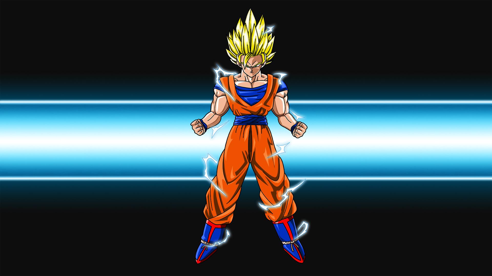 Goku Super Saiyan Dragon Ball Wallpaper HD #6908842