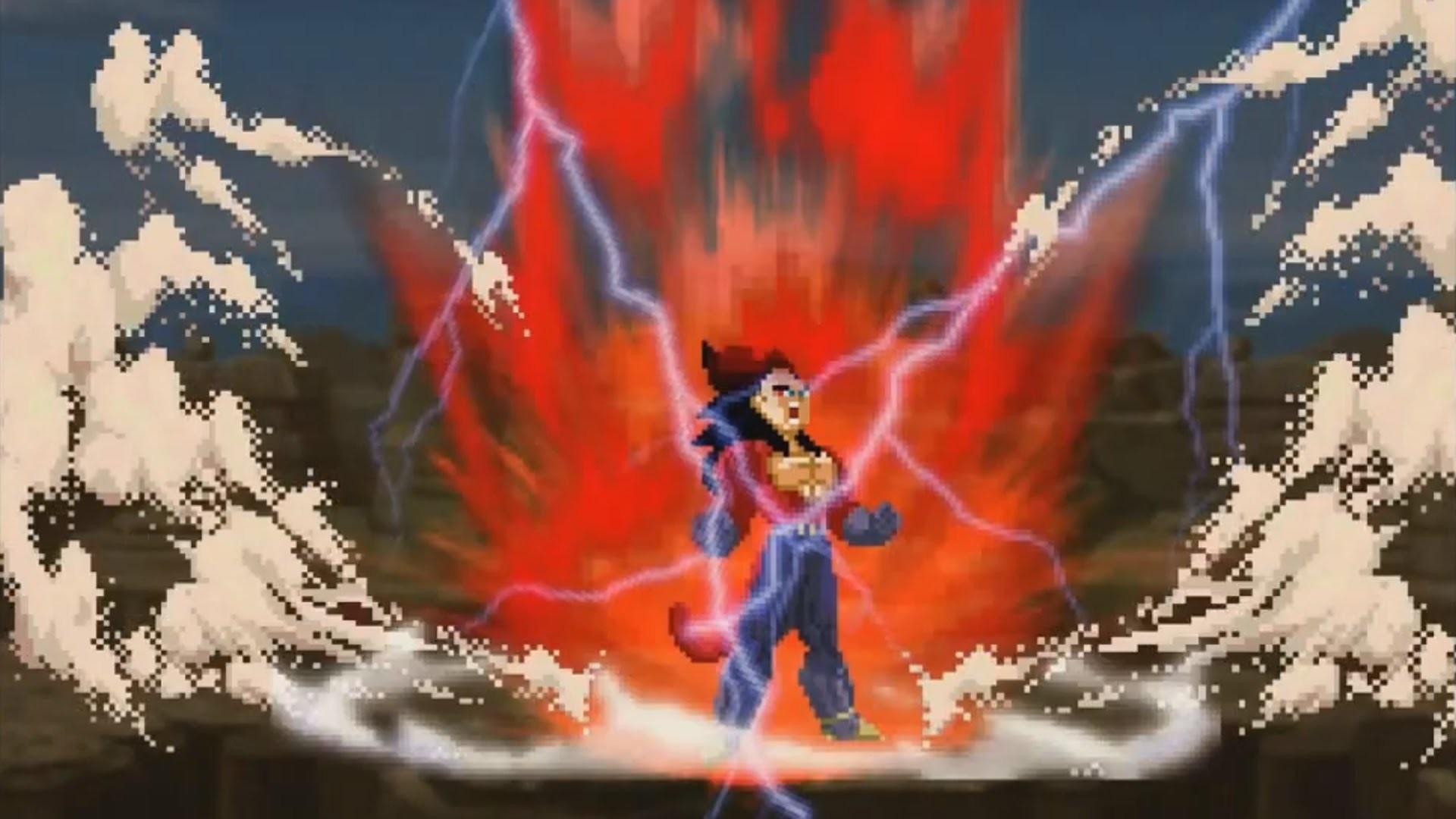 Goku And Vegeta Transformation Super Saiyan 5 (Sprite Animation) – YouTube