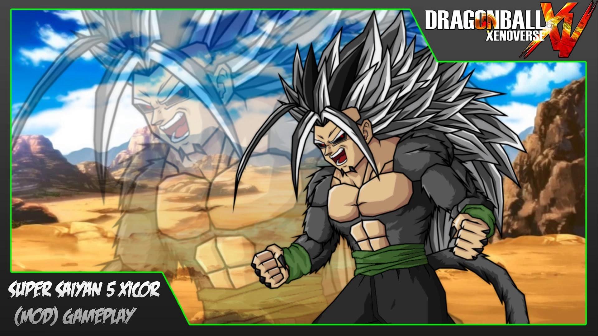 Dragon Ball Xenoverse   Super Saiyan 5 Xicor (MOD) Gameplay