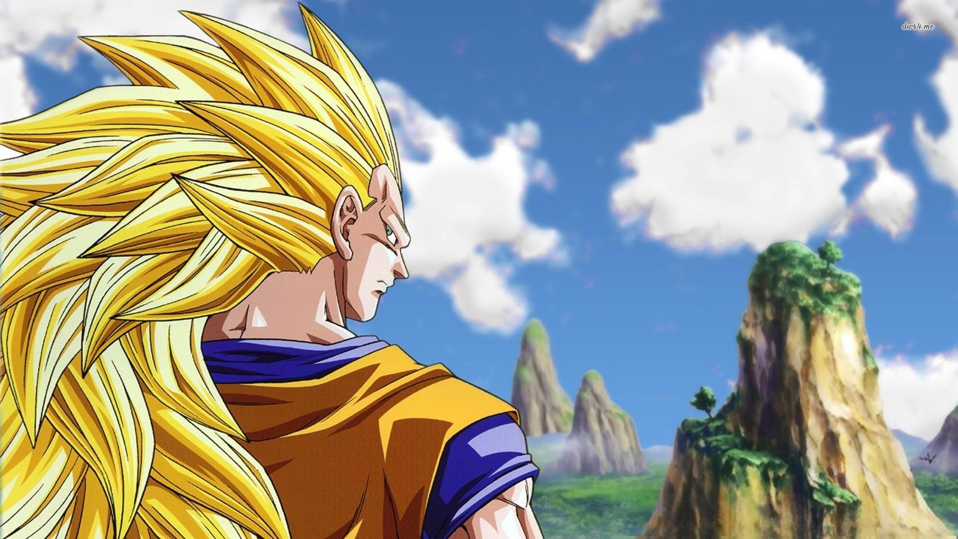 HD Super Saiyan 3 Goku Dragon Ball Z Wallpaper Full Size .