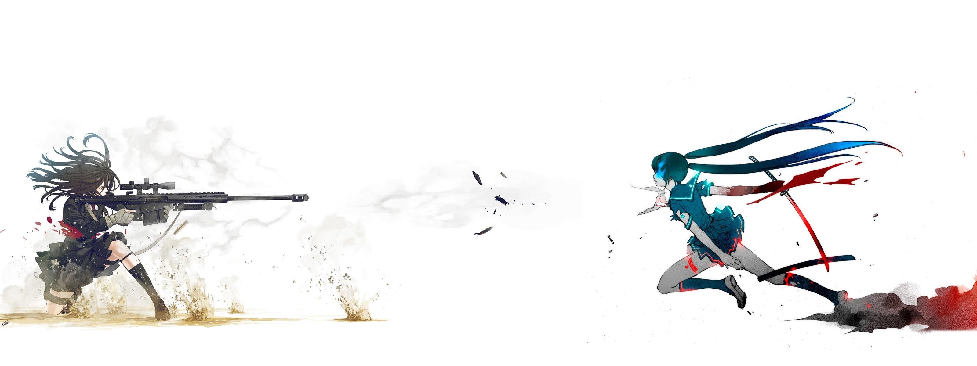 Free Wallpapers – wonderfful woman anime sniper wallpaper   neat .