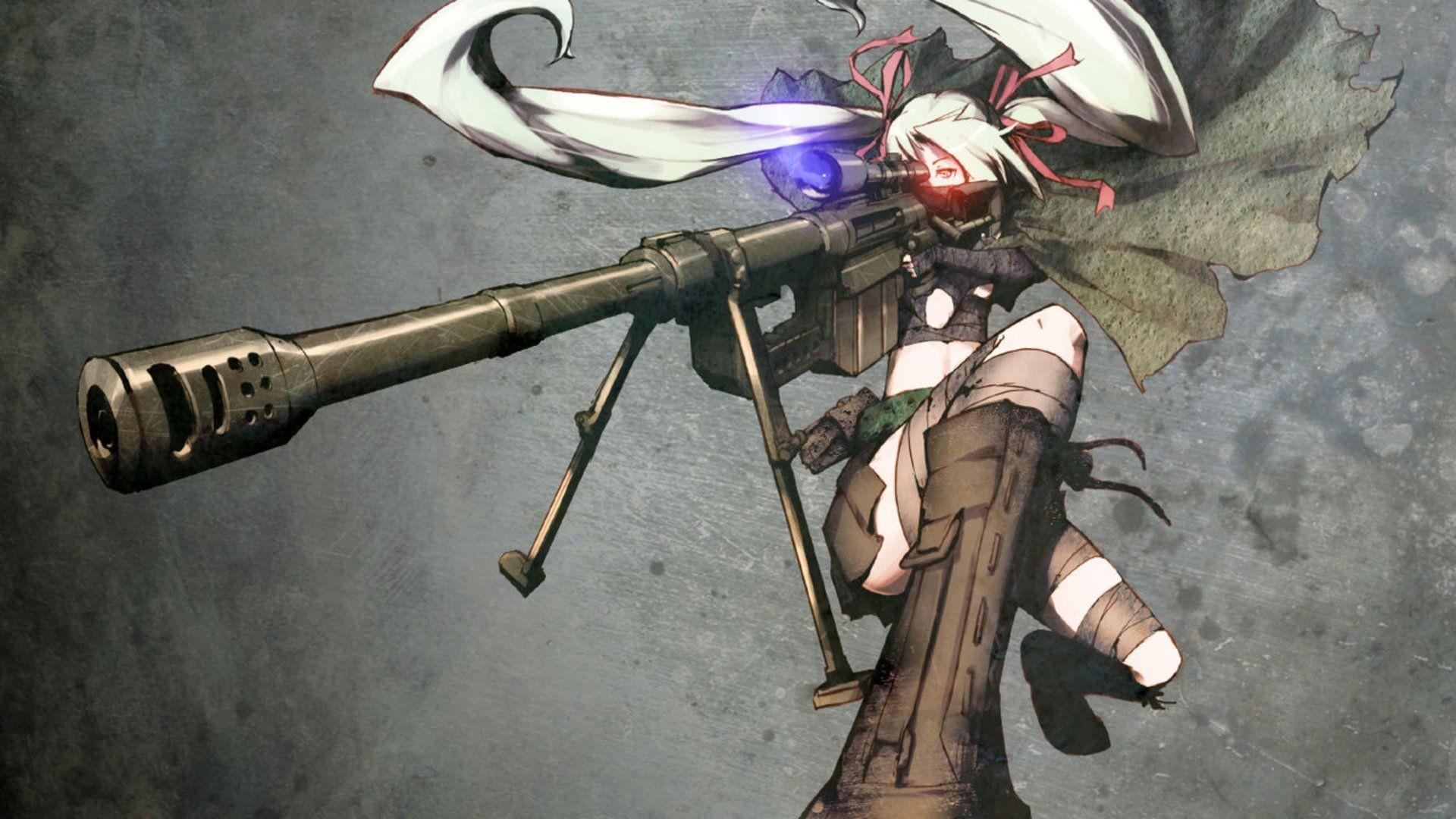 Anime sniper HD Wallpaper 1920×1080
