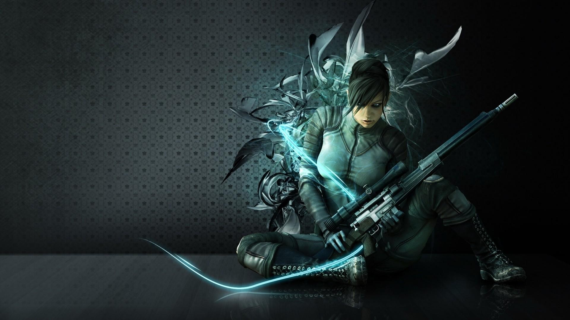 Anime Sniper Images   Desktop HD wallpaper. Stock photos HD quality.