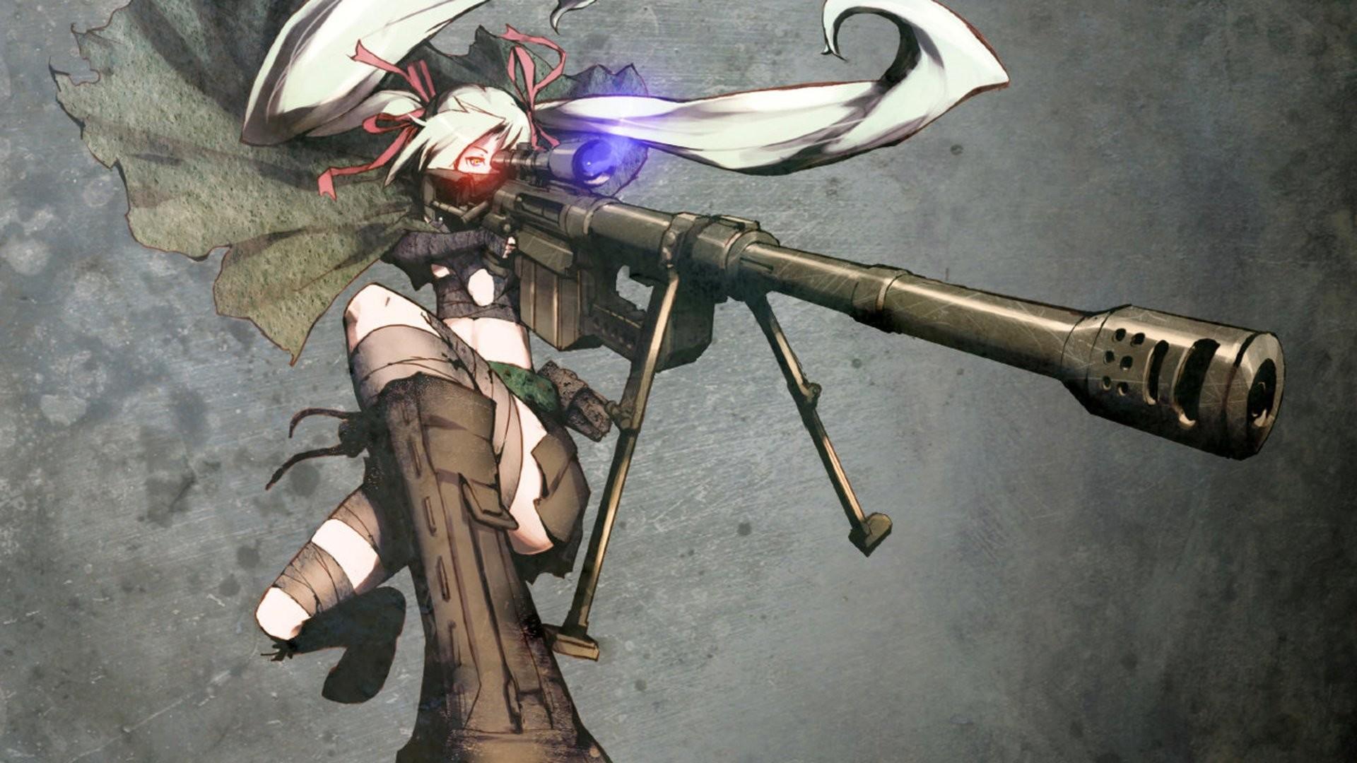Anime Sniper Girl 787414 …