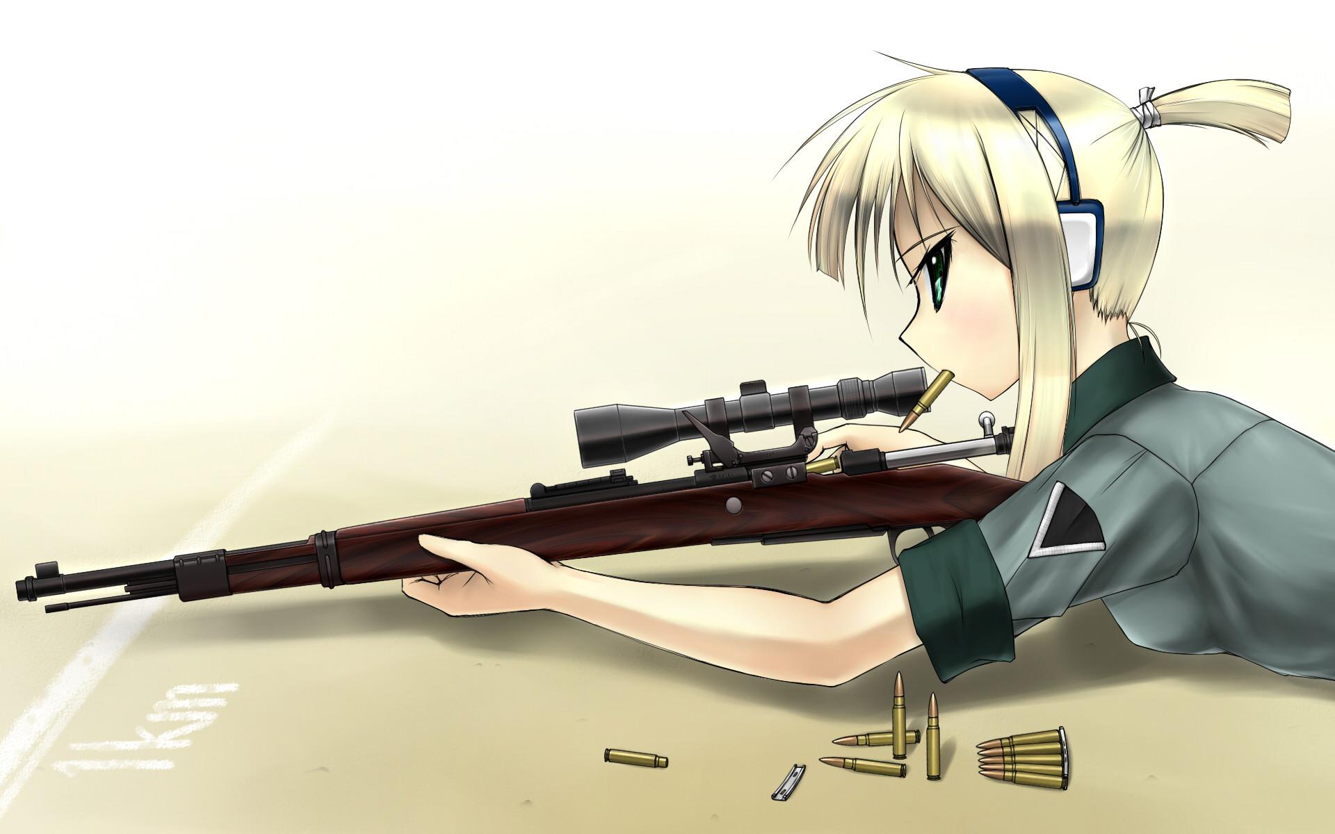 Anime – Material Sniper Wallpaper