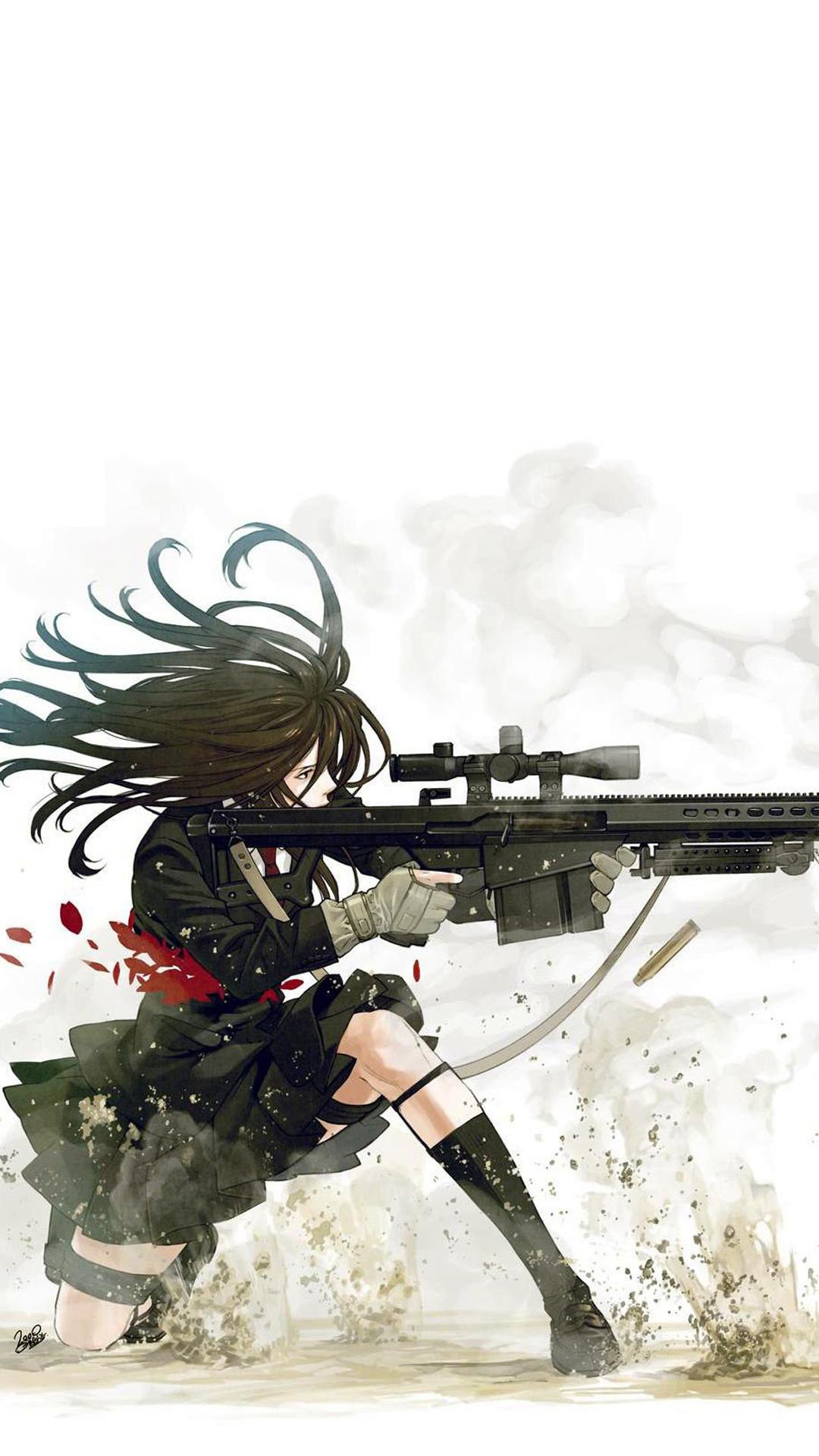 Sniper Girl Anime Photo