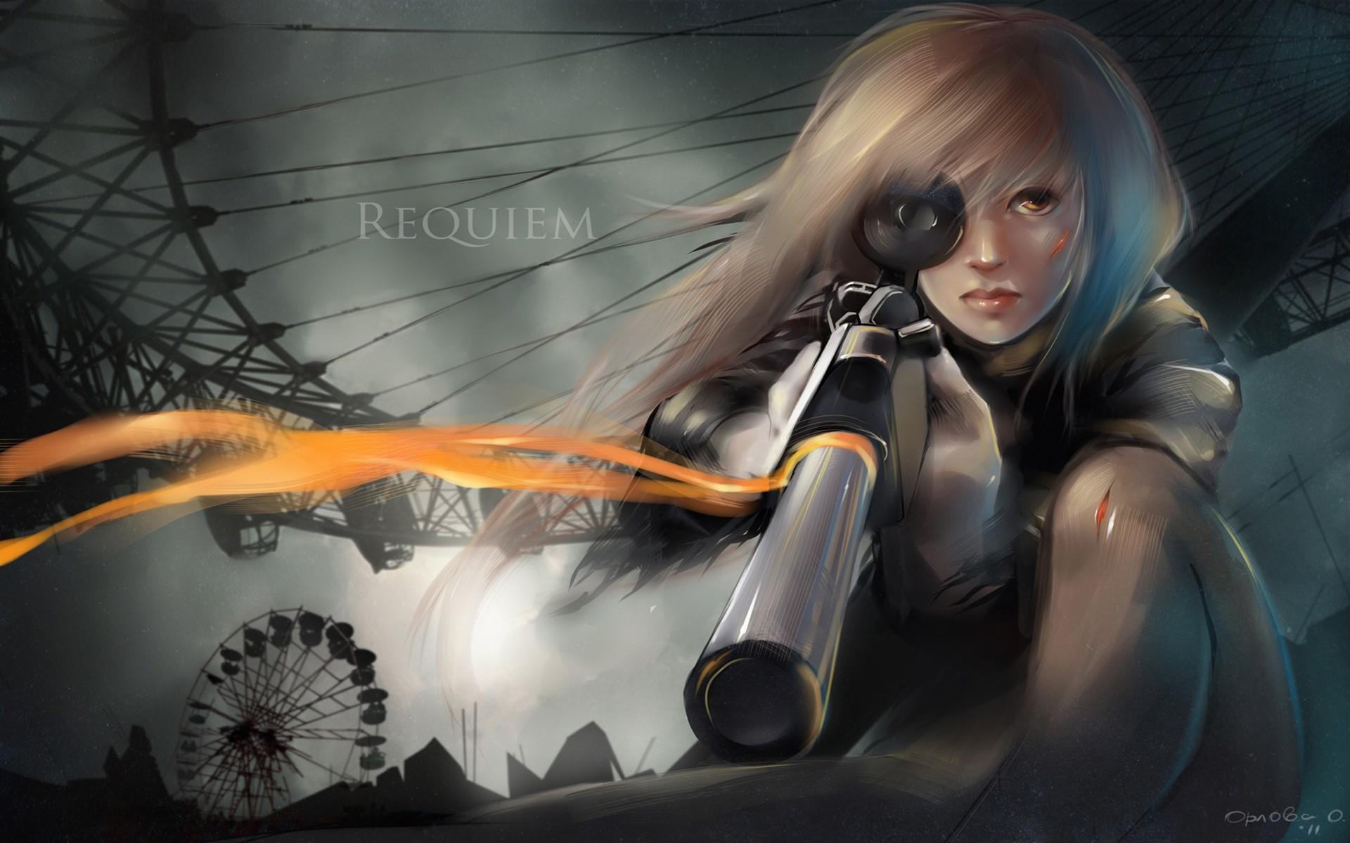 Download HD anime, Anime Girls, Original Characters, Military .