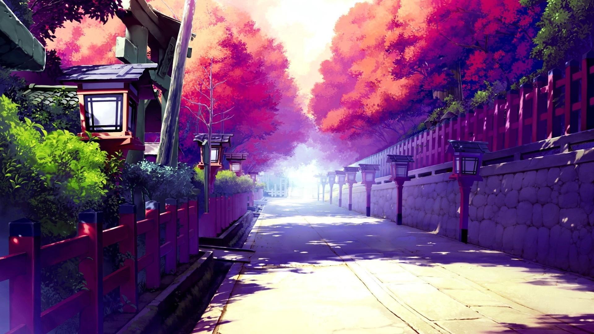 Japanese Anime Street [1920×1080] …
