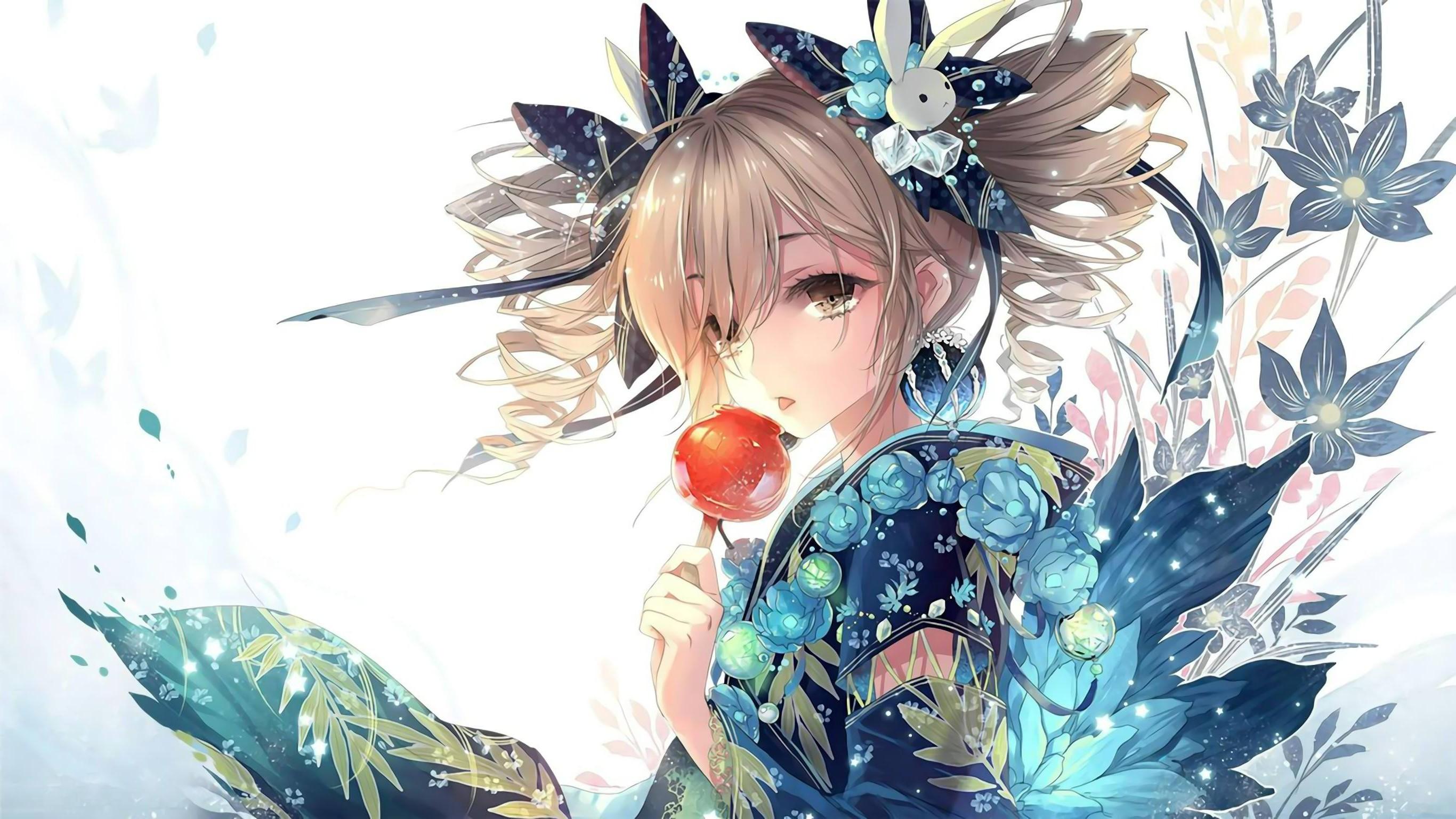 anime Girls, Anime, Original Characters, Kimono, Japanese Clothes Wallpapers  HD / Desktop and Mobile Backgrounds