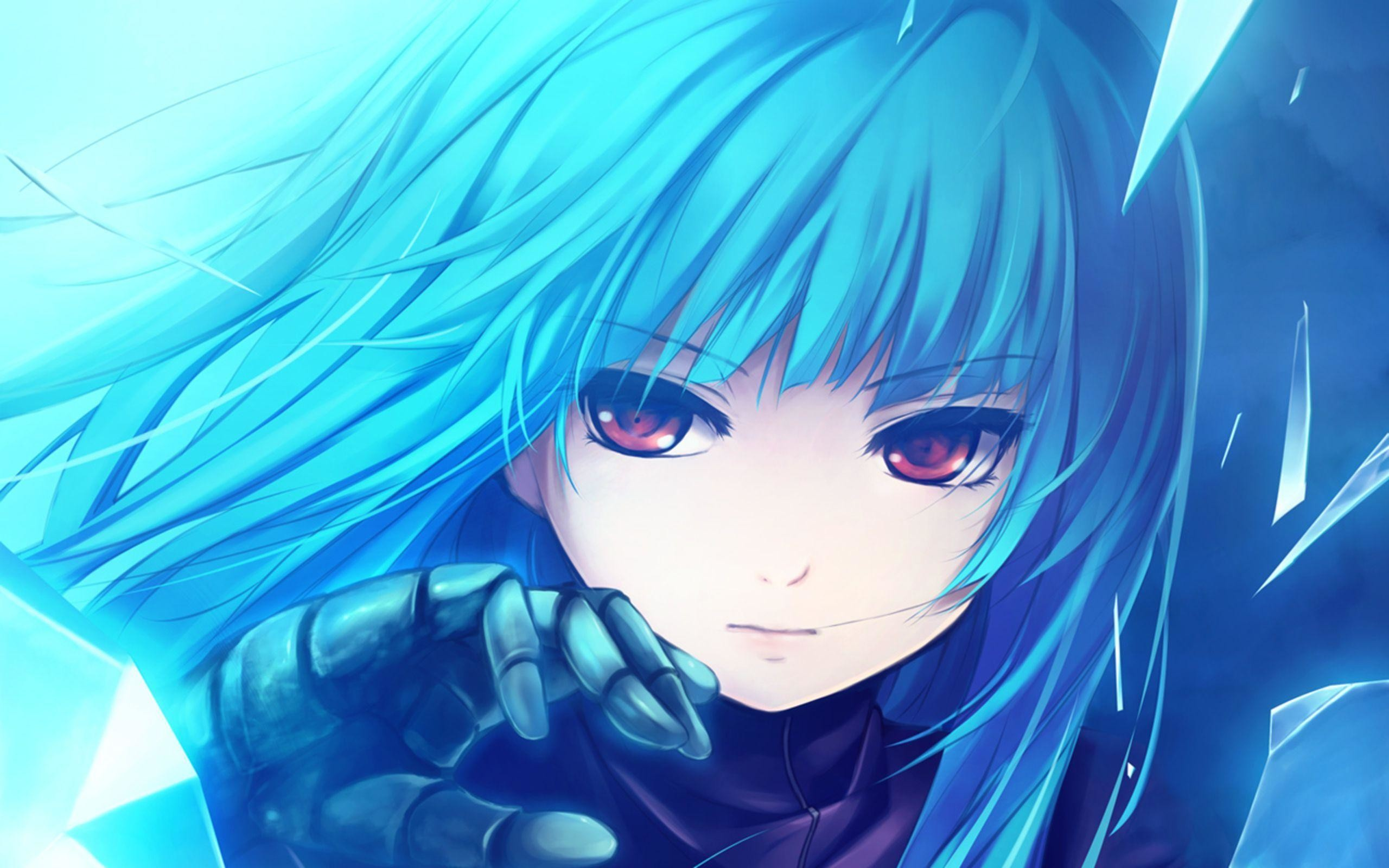 Anime Warrior Girl Wallpaper – Viewing Gallery