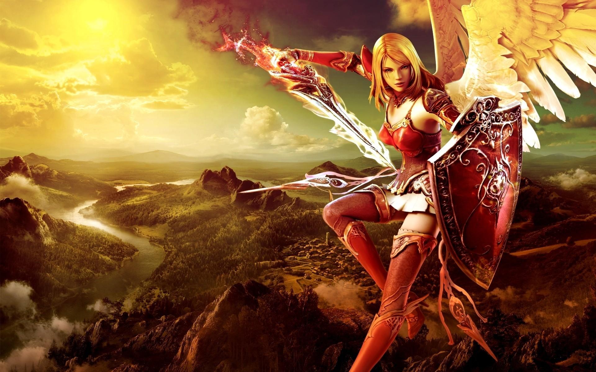 Female Warrior Wallpaper – Wallpaper, High Definition, High Quality .