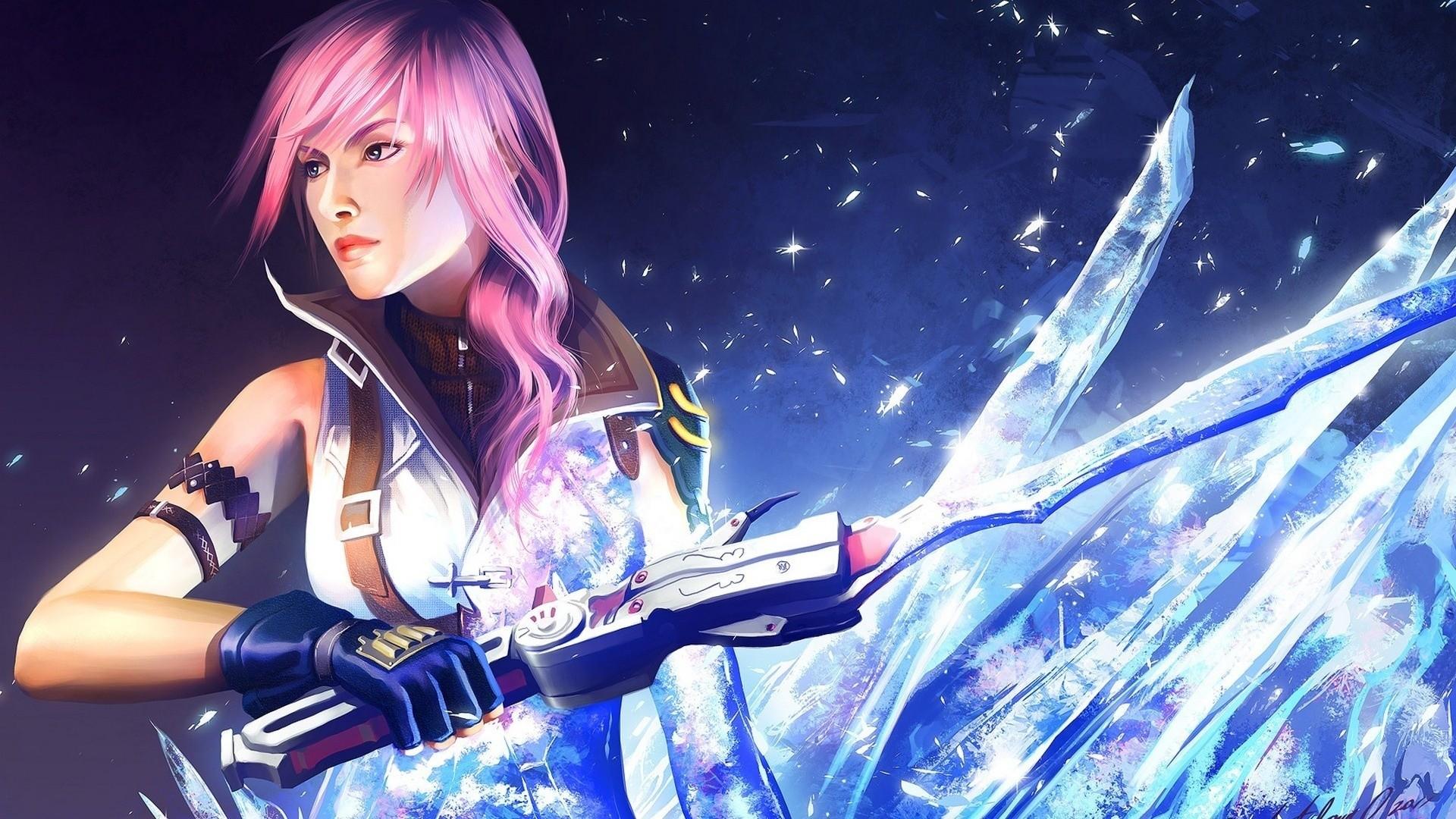 <b>Girl</b> With <b>Sword Wallpaper</