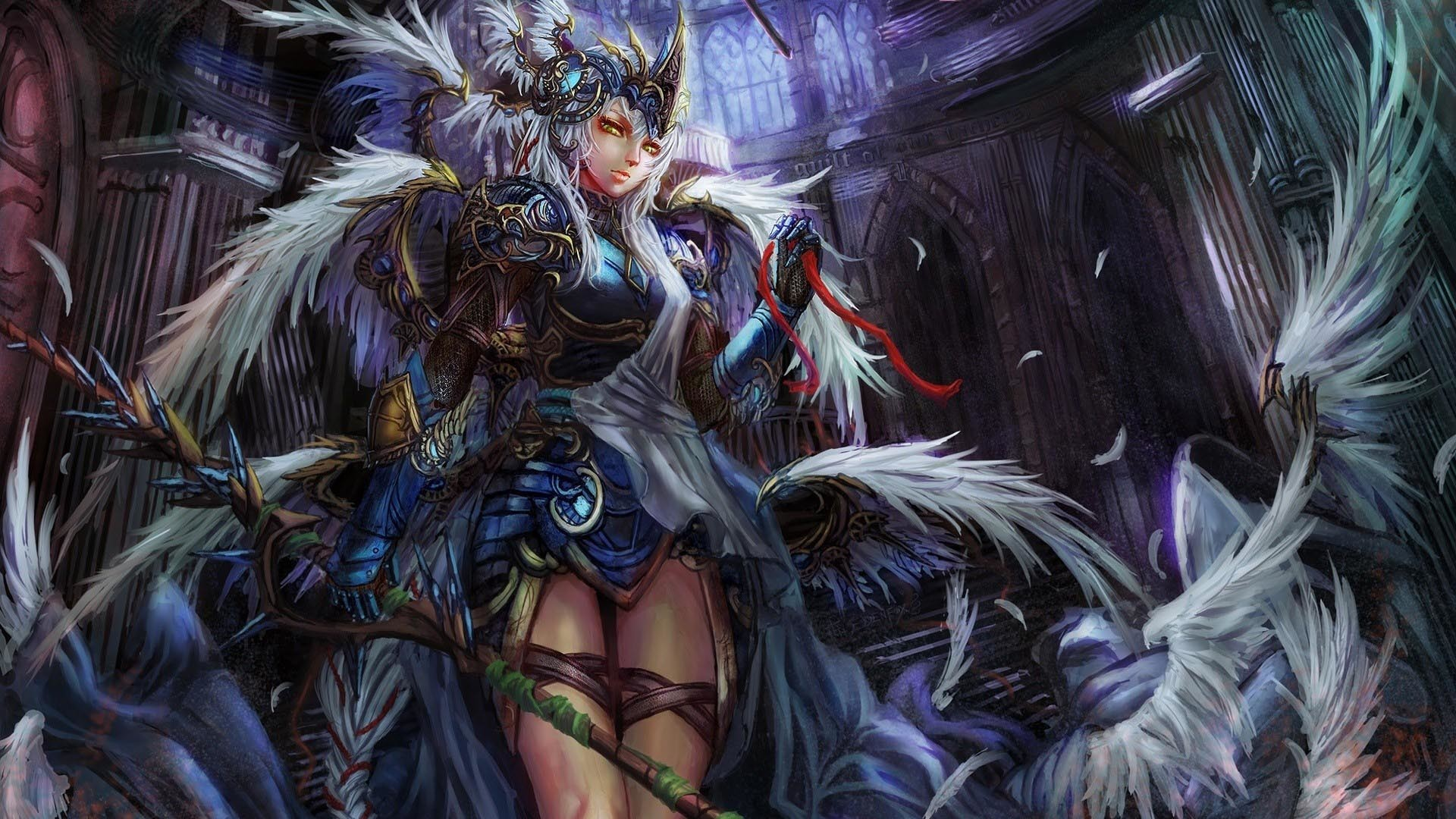 Anime Angel Warriors Wallpaper – image #728621