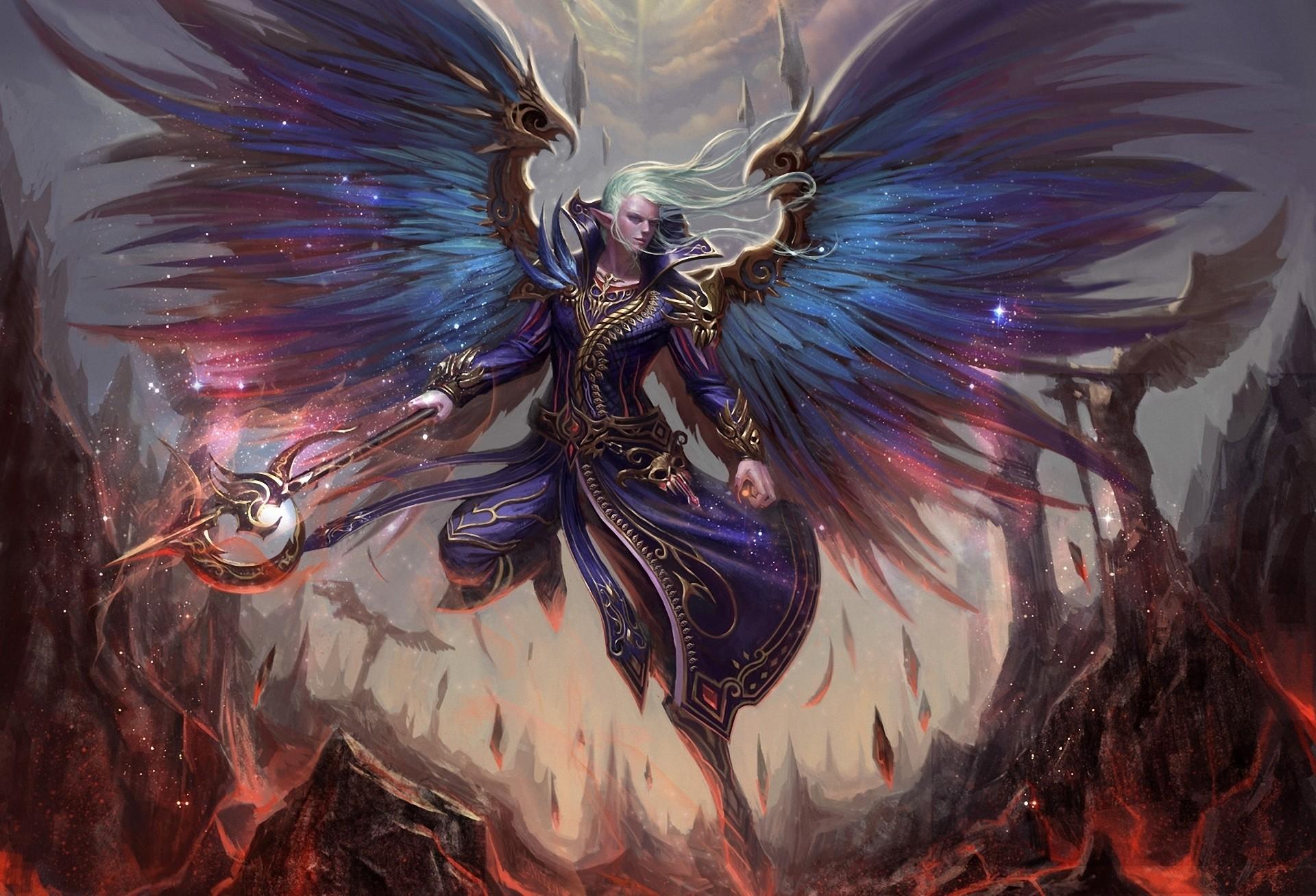 Angel wallpapers mystic