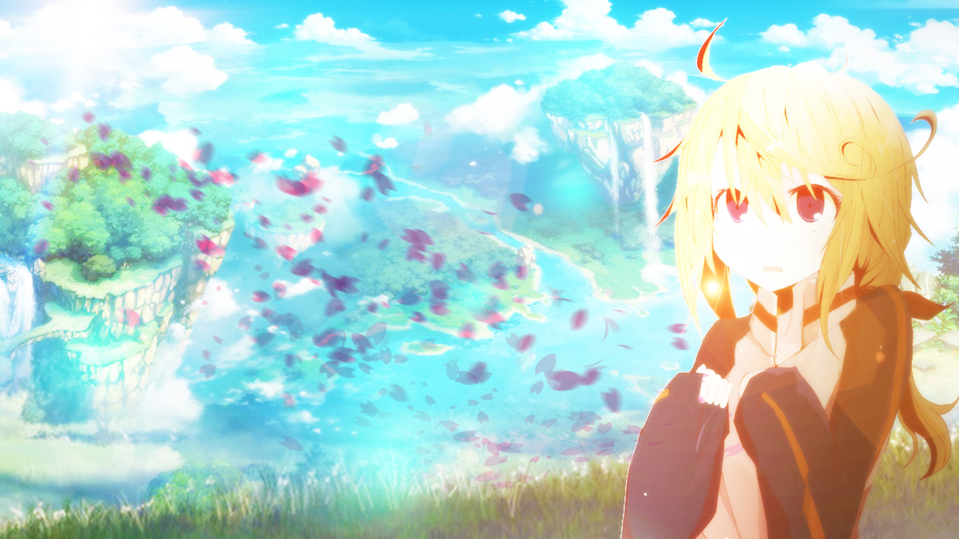 Kawaii girl wallpaper by ATNDesign Kawaii girl wallpaper by ATNDesign