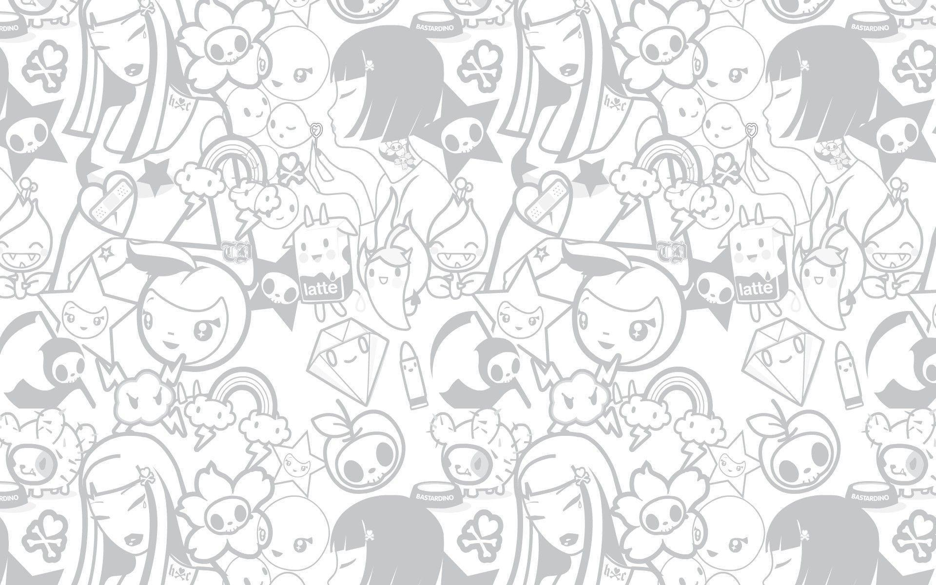 Kawaii girl anime wallpaper background 14 | Wallpaper