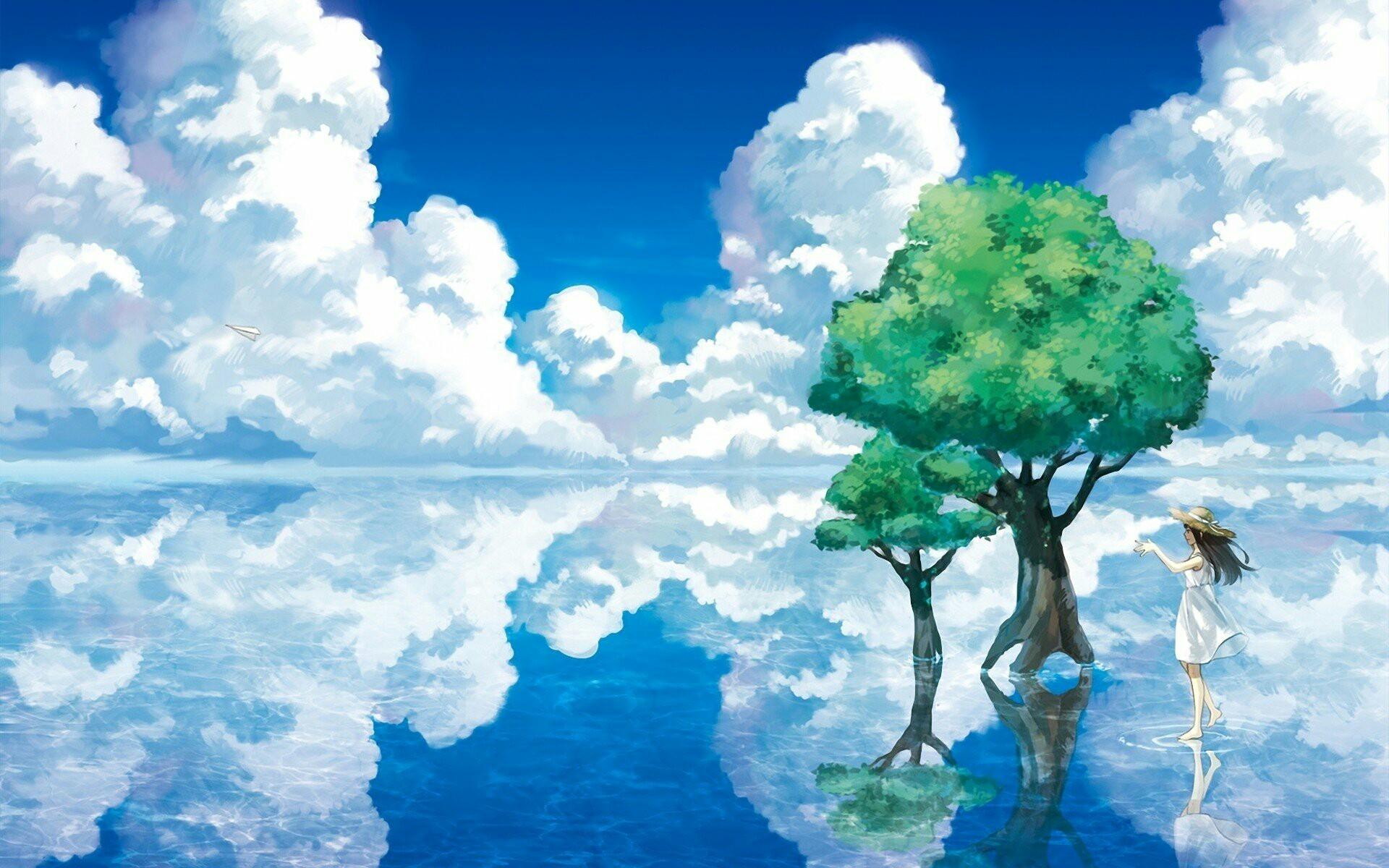 #animewallpaper #wallpaper #kawaii #sky #ezmkurd #خلفيات_انمي #انمي_غلاف  anime sky