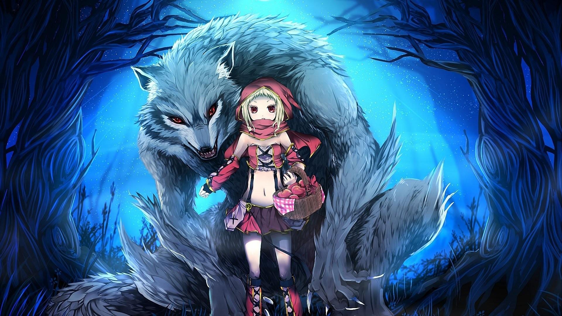 Red Riding Hood Anime Wallpaper » WallDevil – Best free HD desktop .