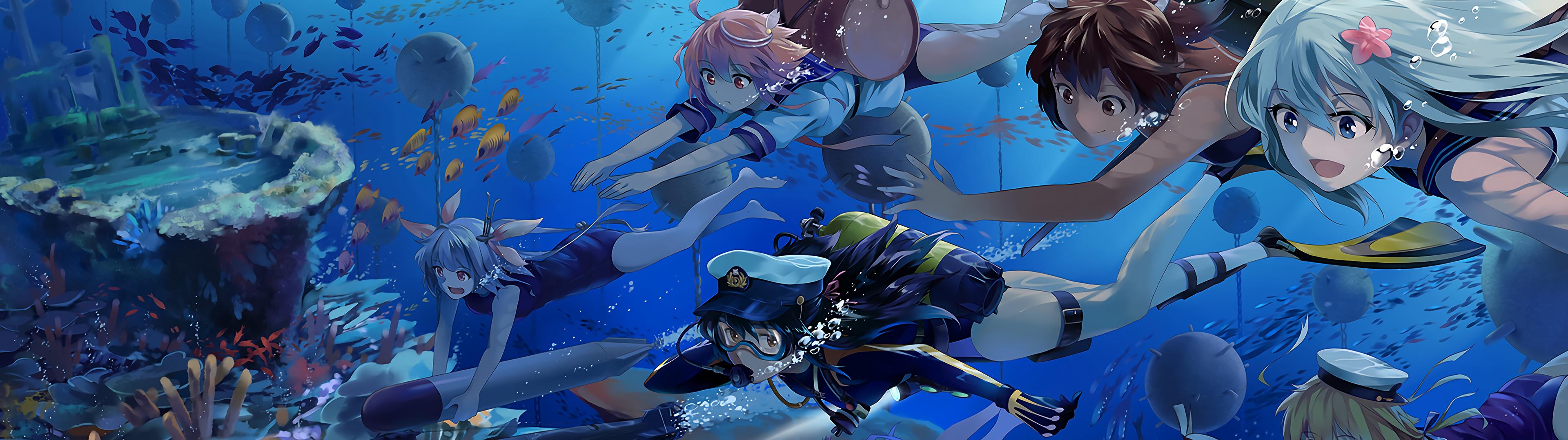 [3840×1080] Anime wallpaper – Album on Imgur