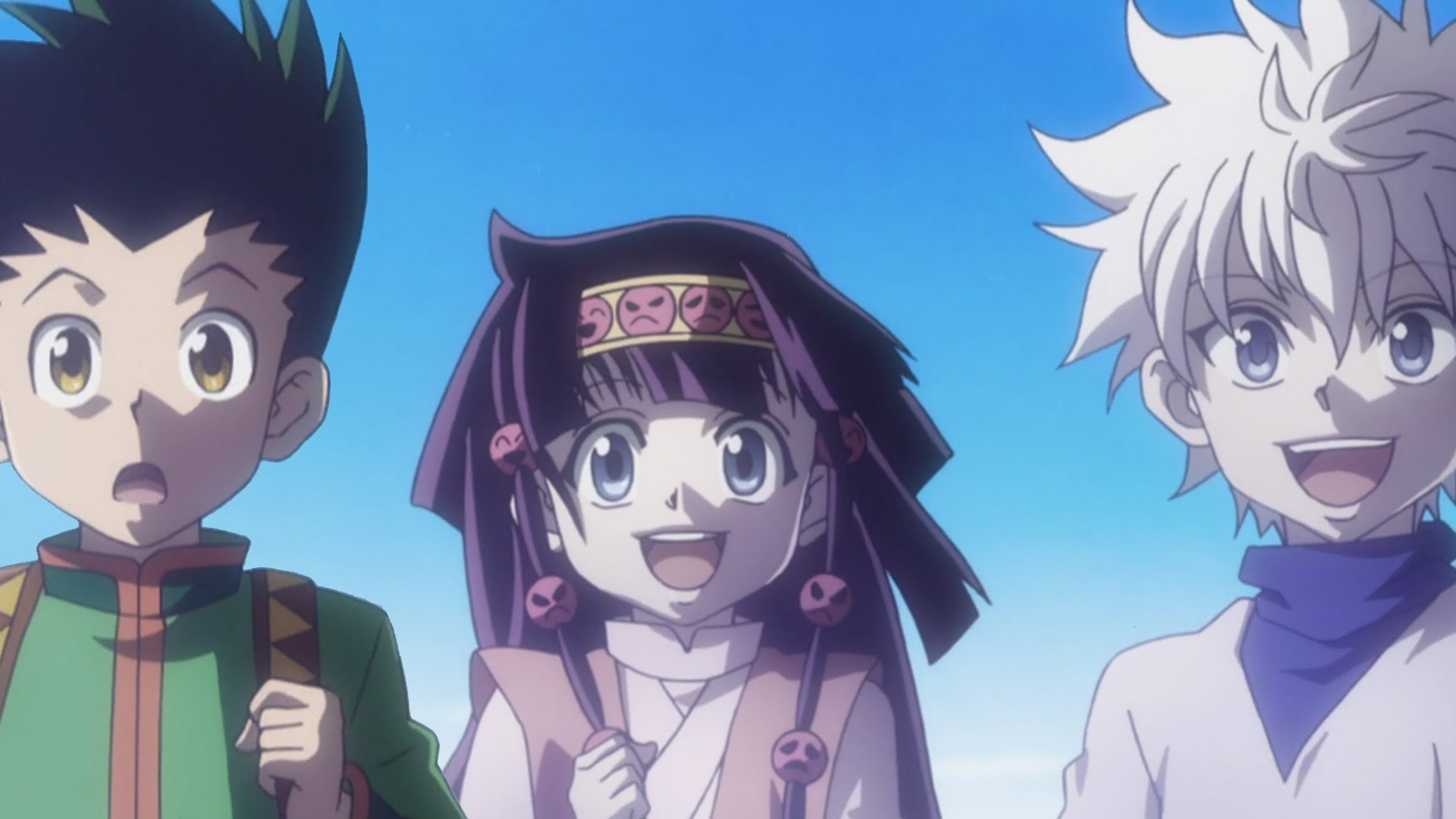Alluka zoldyck images Alluka and Kilua and Gon HD wallpaper and background  photos