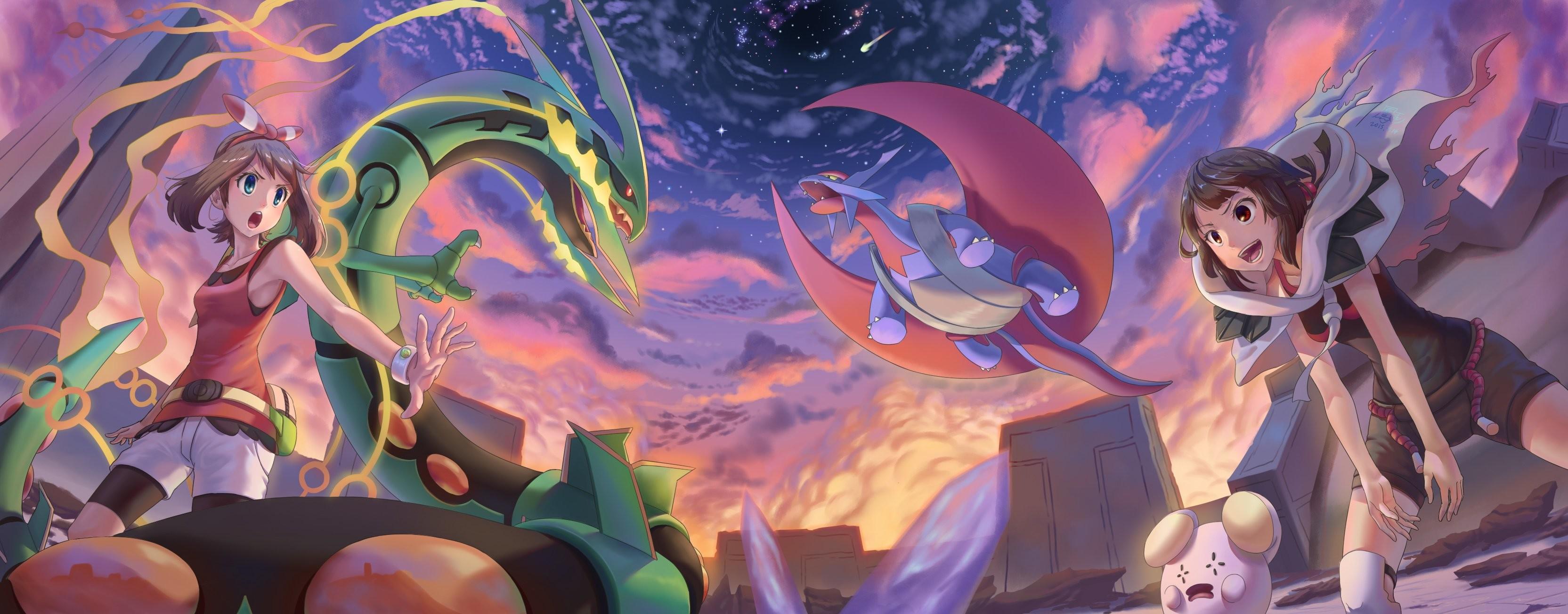Haruka pokemon mega rayquaza mega salamence pokemon tagme whismur wallpaper  | | 807420 | WallpaperUP