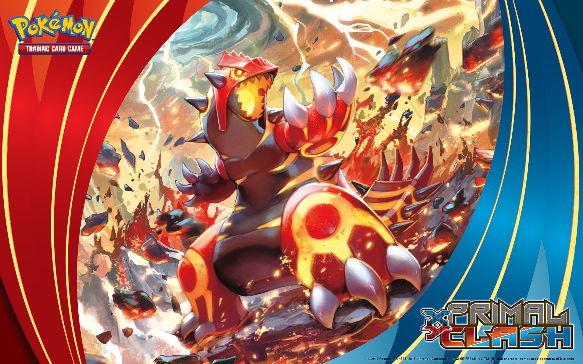 Pokémon TCG: <em>XY—Primal Clash</em> Primal Groudon