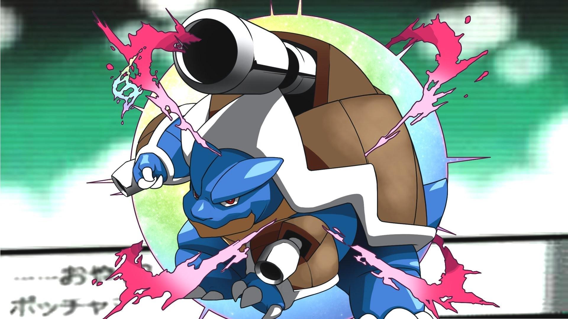 Pokemon X/Y: Blastoise's Mega Evolution! – Speed Art