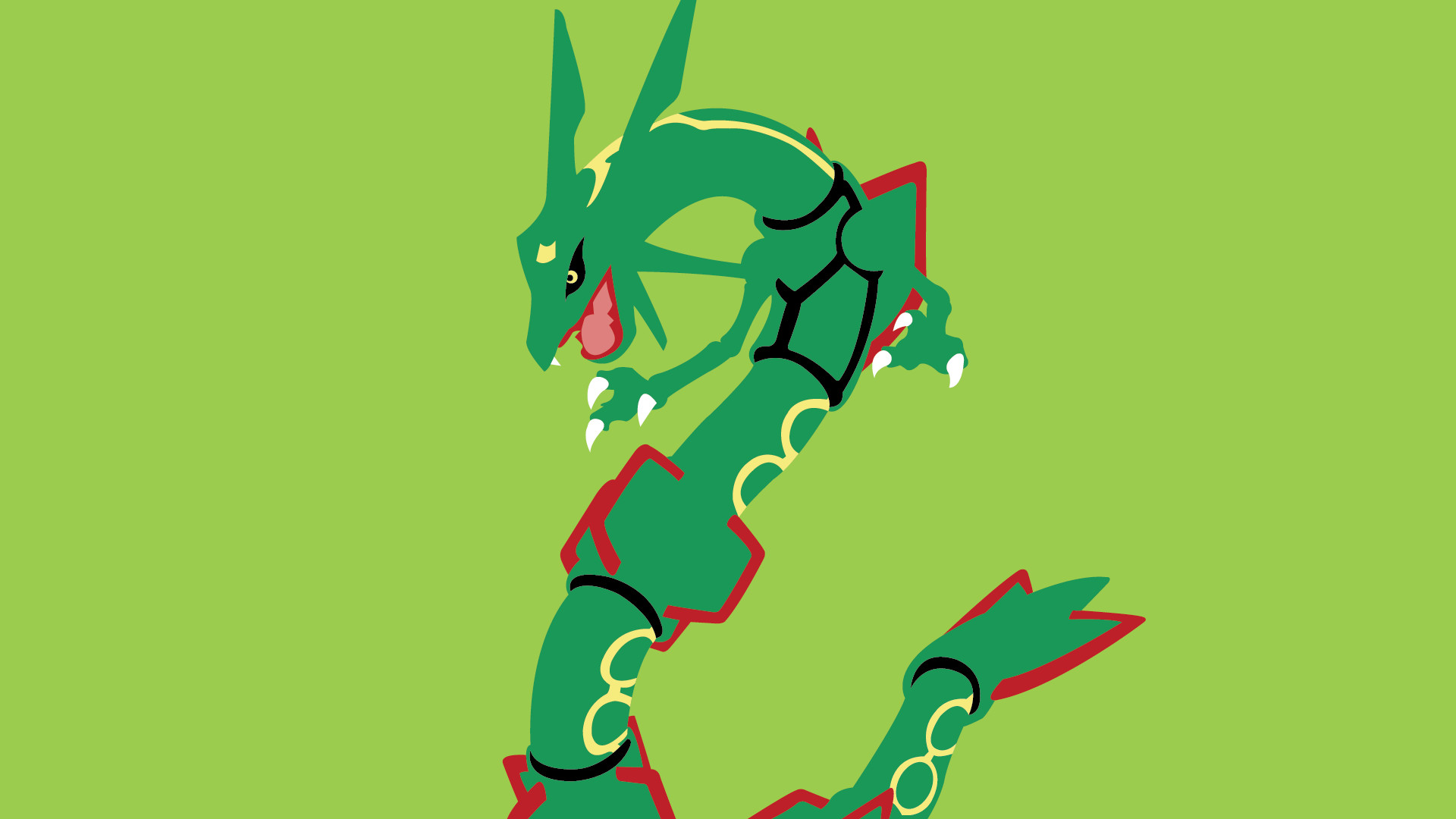 Adorable Pokemon Mega Rayquaza Wallpaper, 5998139 1920×1080
