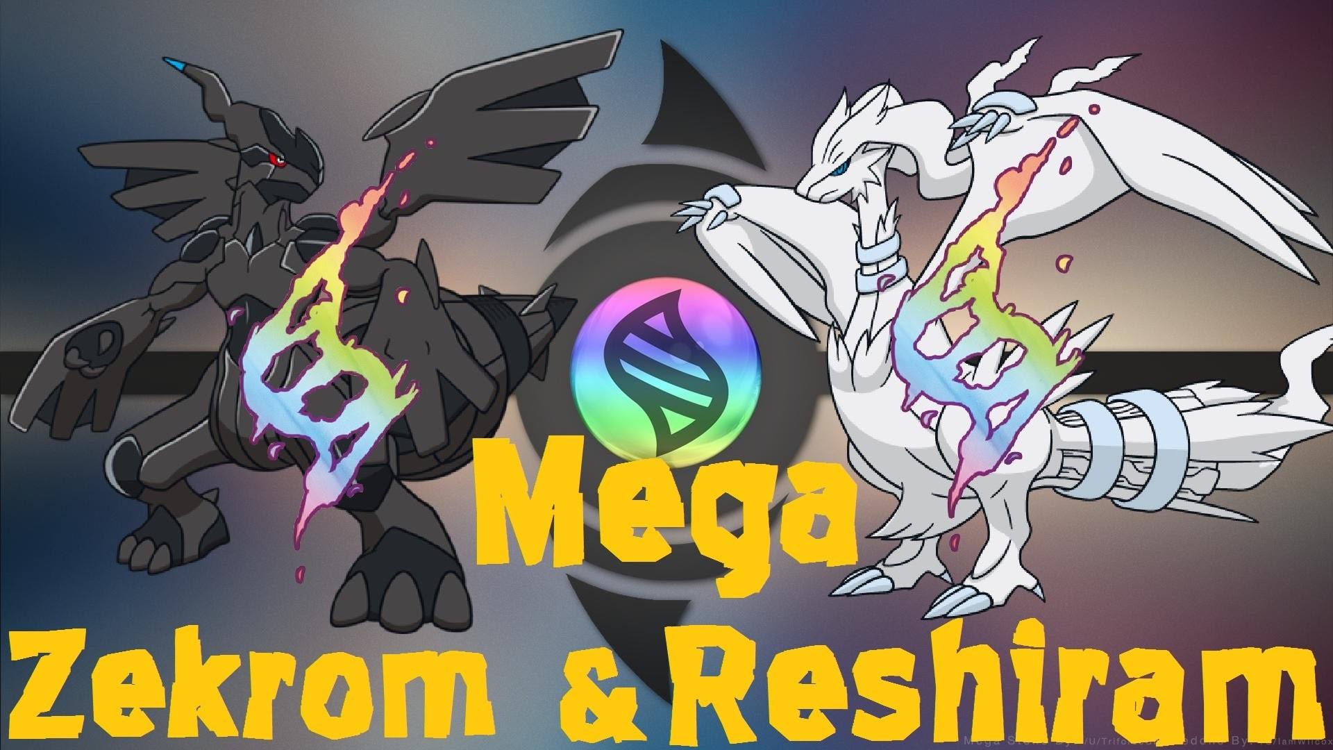 Mega Zekrom and Reshiram | Pokemon Omega Ruby and Alpha sapphire (Fan Art)  – YouTube