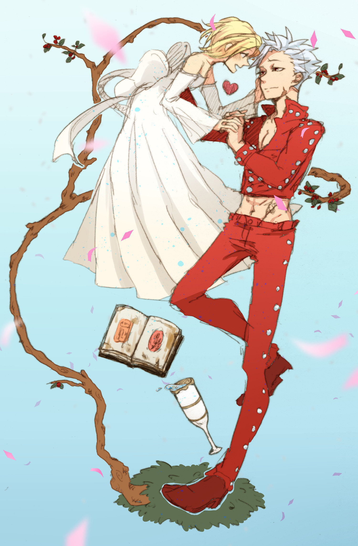 Nanatsu no Taizai | Elaine & Ban. Best CoupleAnime ShowsSeven Deadly SinsAnime  …