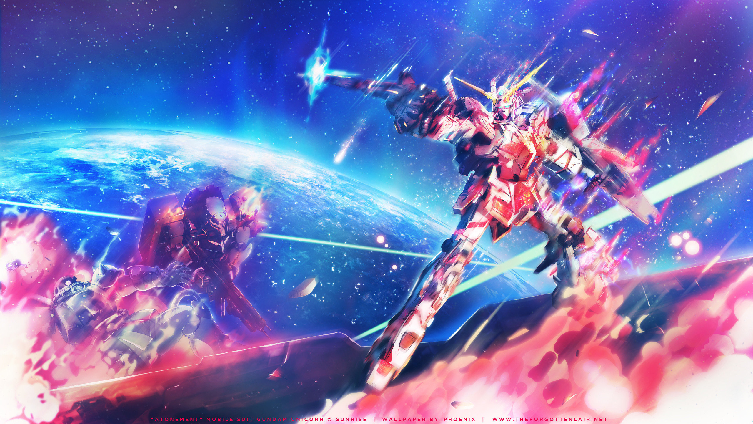 4 Mobile Suit Gundam Unicorn HD Wallpapers | Backgrounds – Wallpaper Abyss
