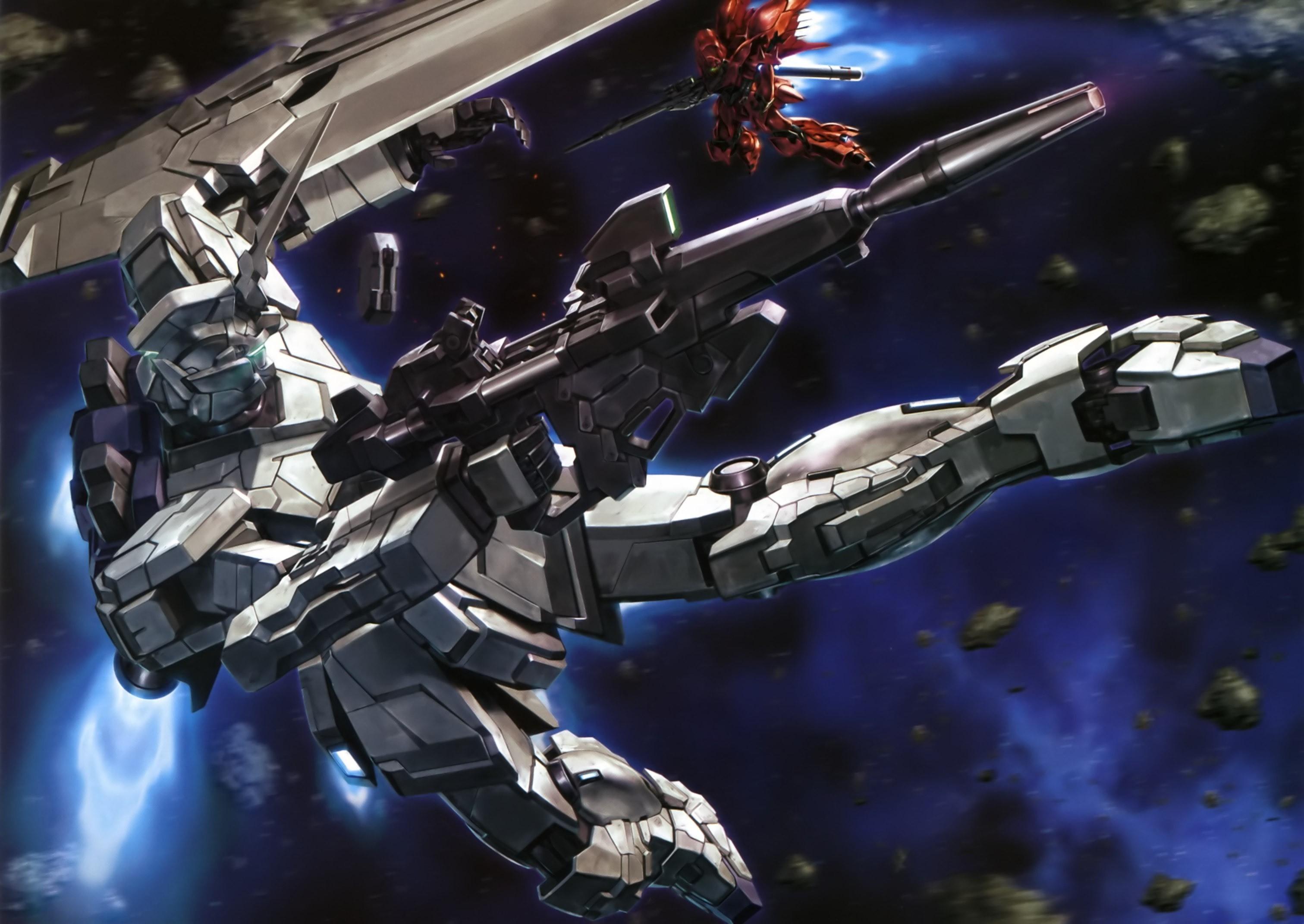 mecha Gundam Unicorn wallpaper