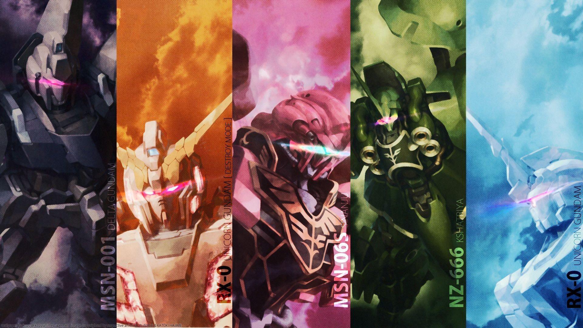 Gundam Unicorn Image As Wallpaper HD