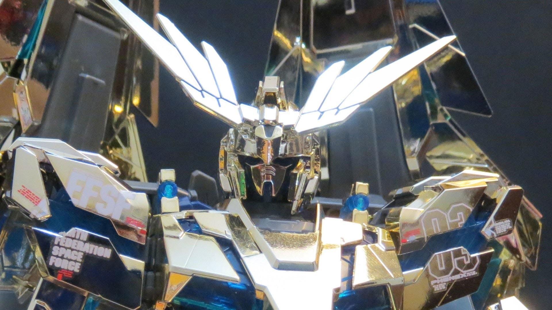 MG Phenex (1: Unbox) Gundam UC Unicorn 03 from One of Seventy-Two Gold  gunpla model review ガンプラ – YouTube