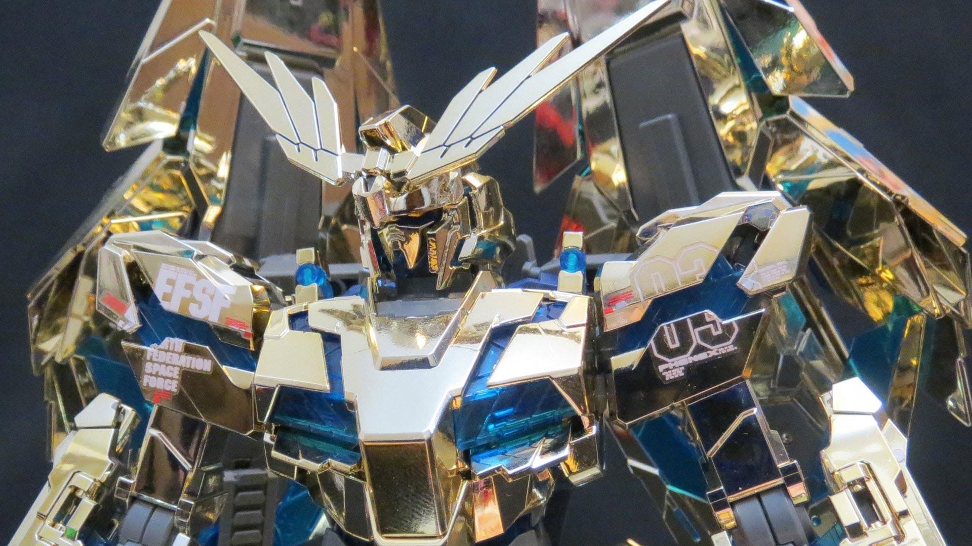 MG Phenex (2: MS&V) Gundam UC Unicorn 03 from One of Seventy-Two Gold  gunpla model review ガンプラ – YouTube