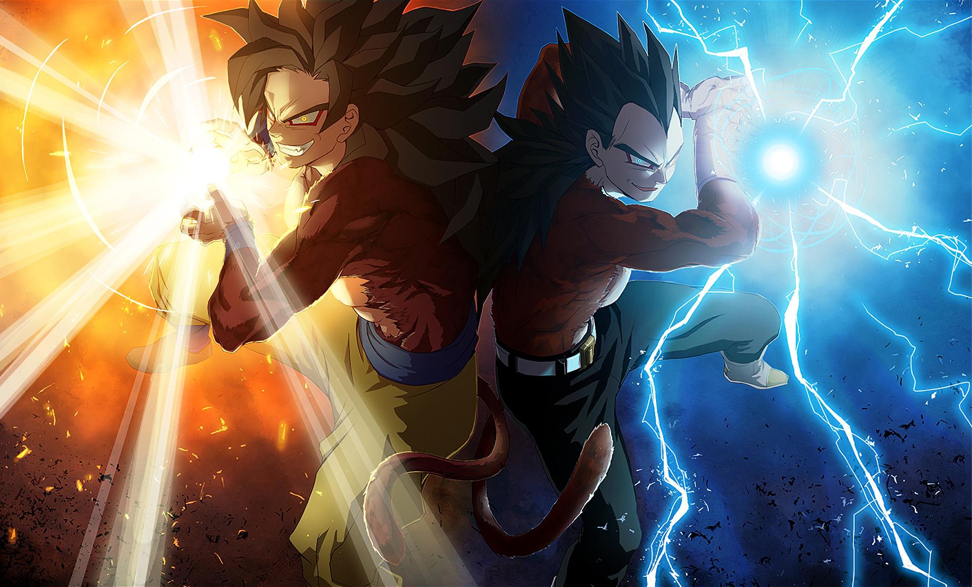 … Goku Super Saiyan 4 Vegeta · Fondo de pantalla HD | Fondo de Escritorio  ID:593473