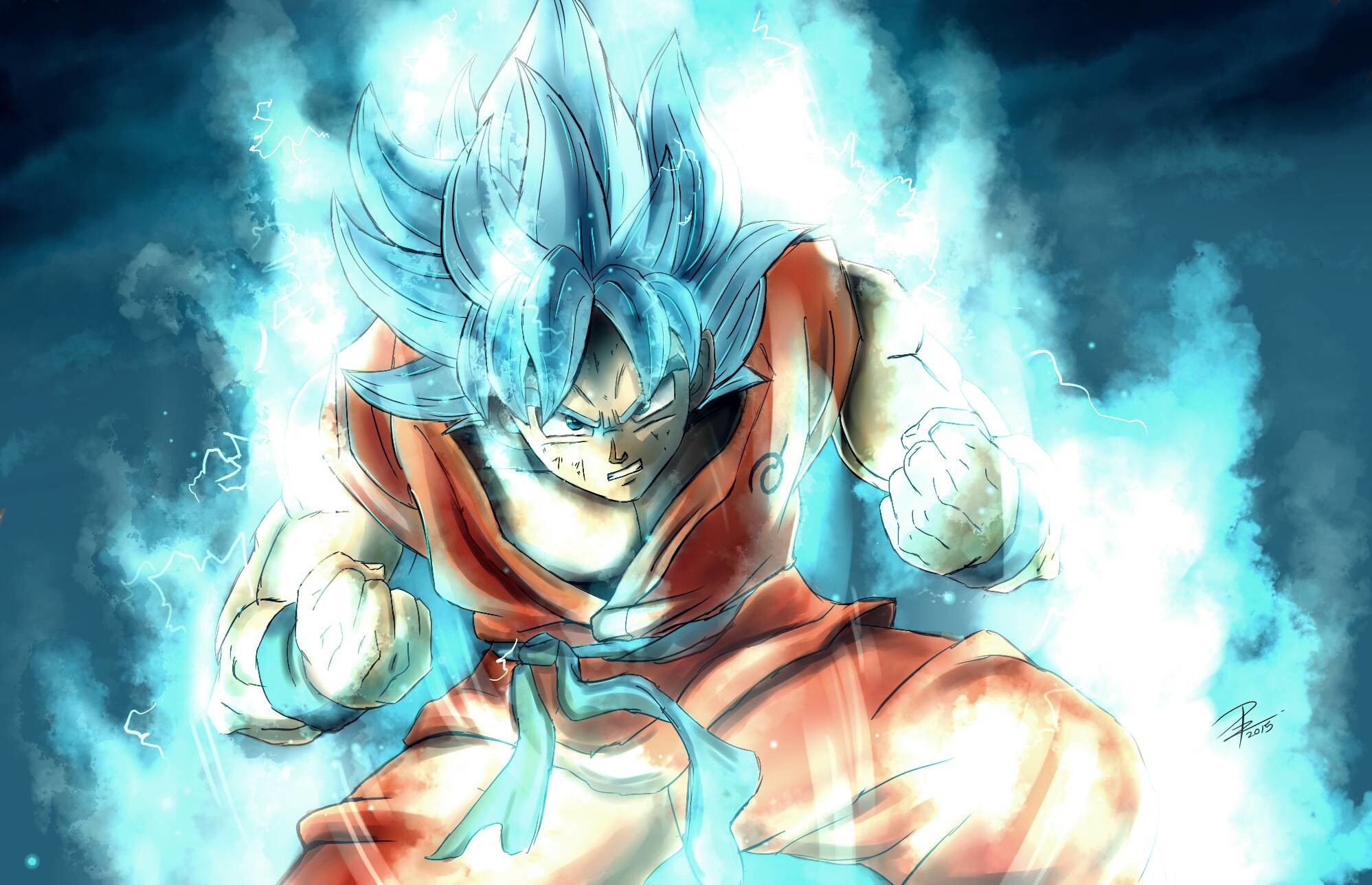 … Goku Super Saiyan · HD Wallpaper   Background ID:678317