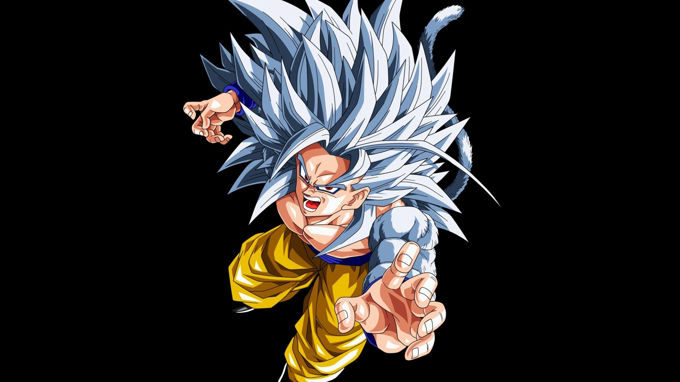 Tablet Android/iPad: 1024×768 1280×1280 2048×2048. Description : Download Goku  Super Saiyan 5 Wallpaper …