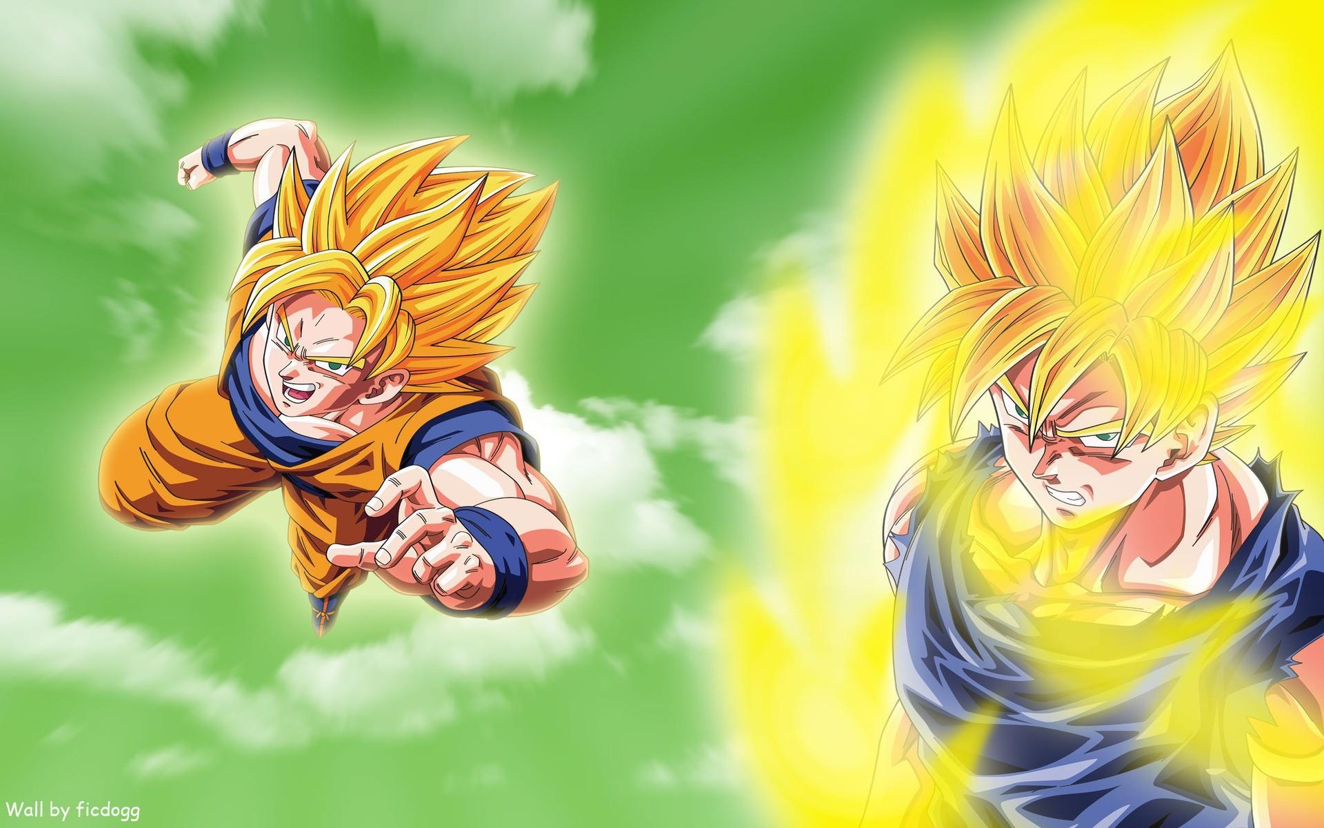 Goku Super Saiyan – Dragon Ball Z Wallpapers