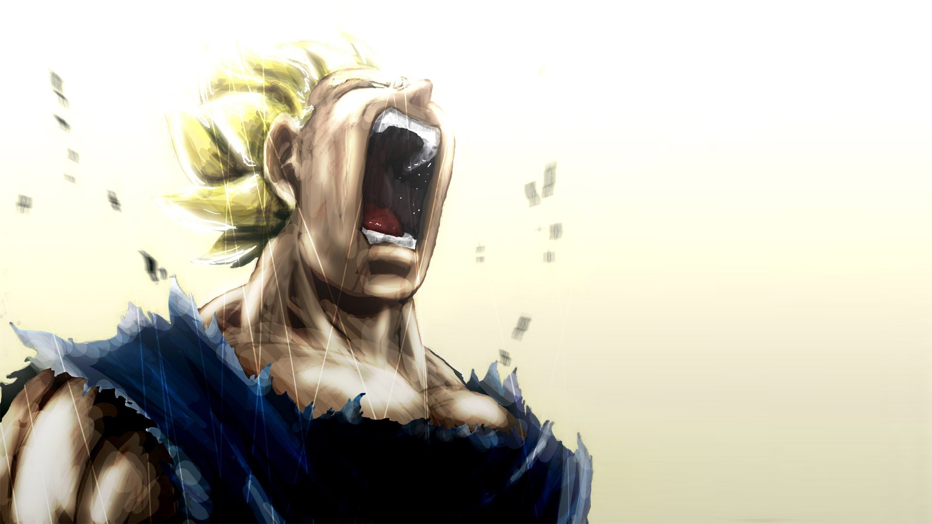 Vegeta Super Saiyan Cry