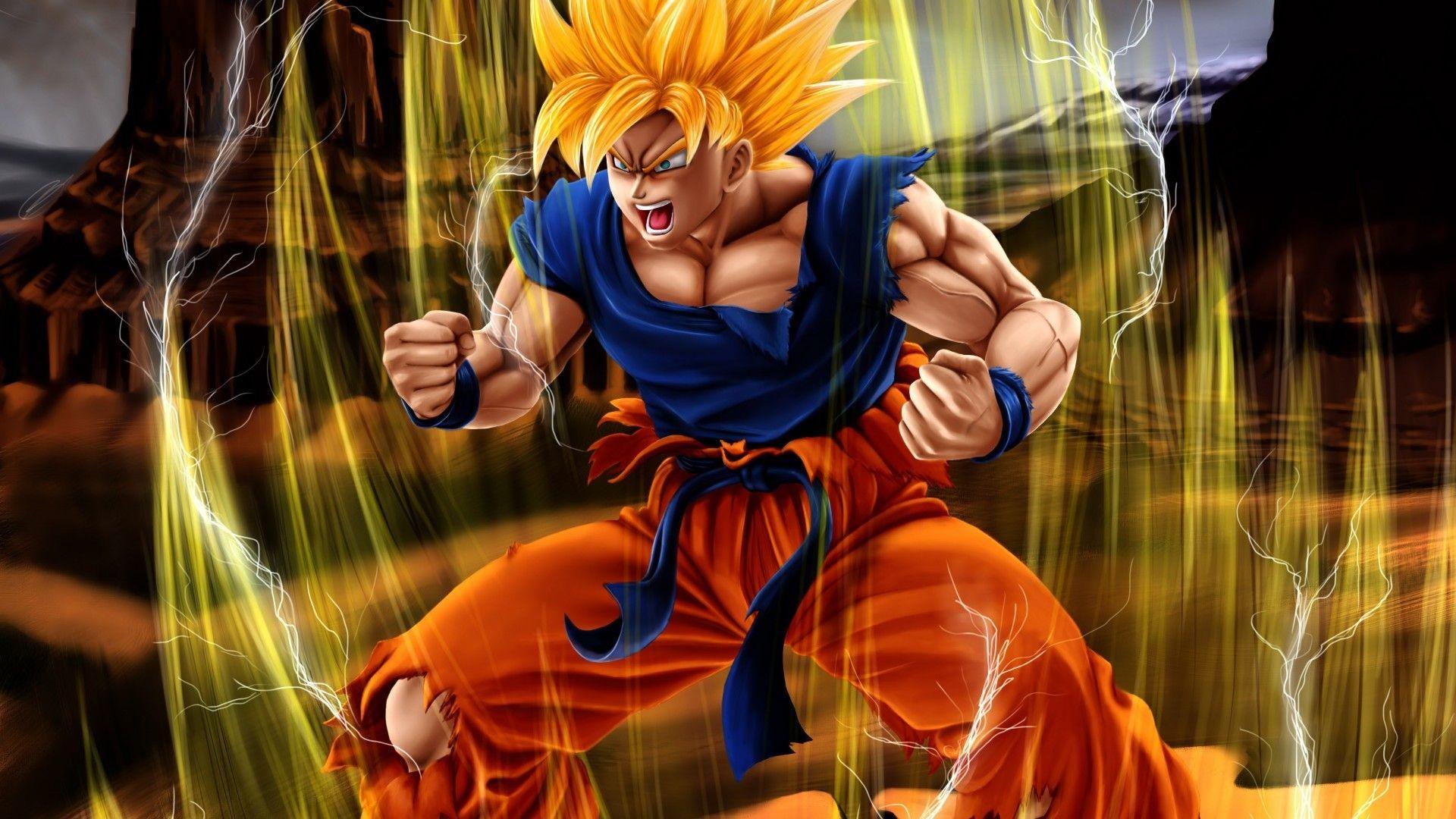 Goku Super Saiyan Wallpaper