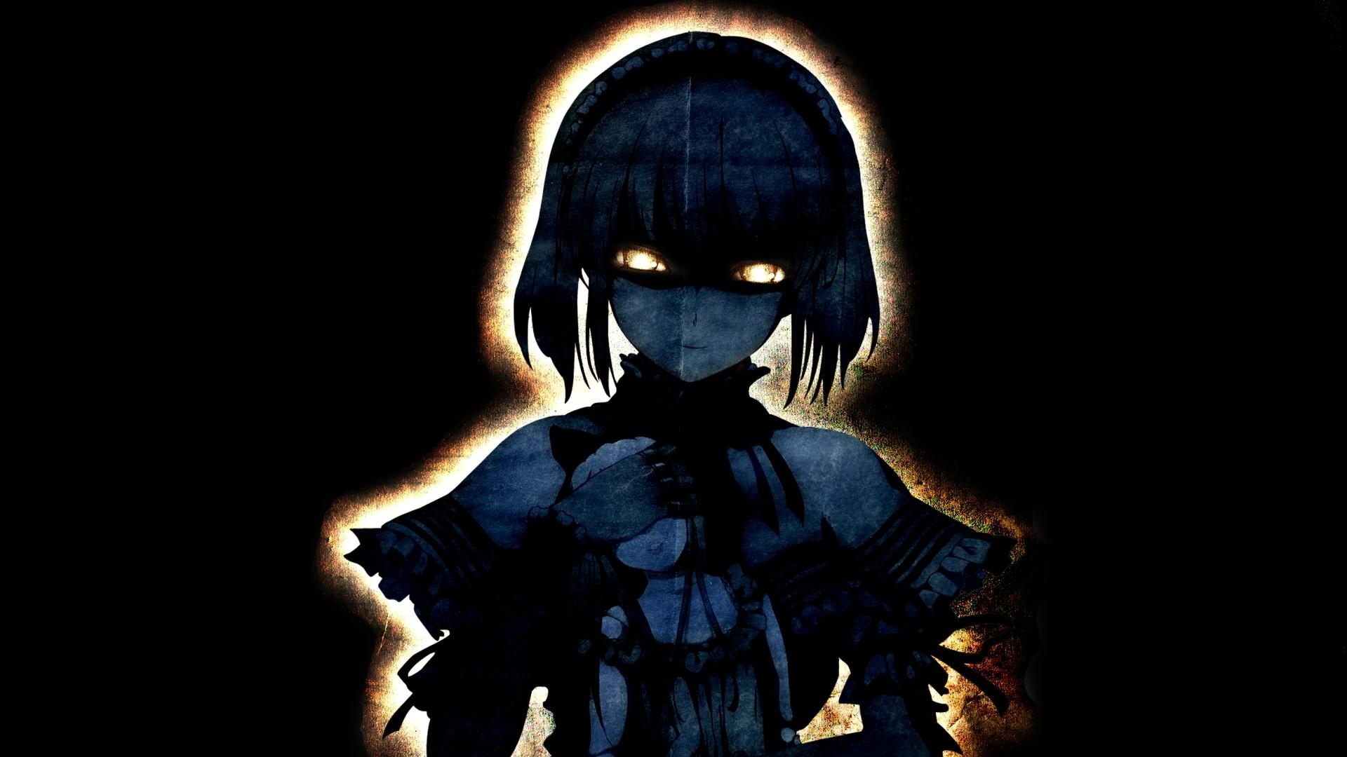 Dark Anime Girls Wallpaper