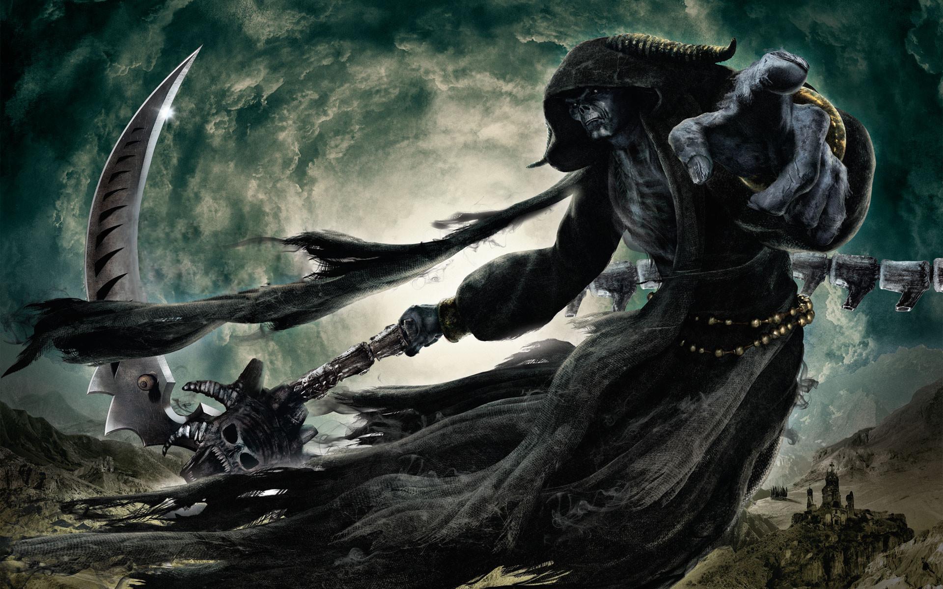 Grim Reaper Costume For Men