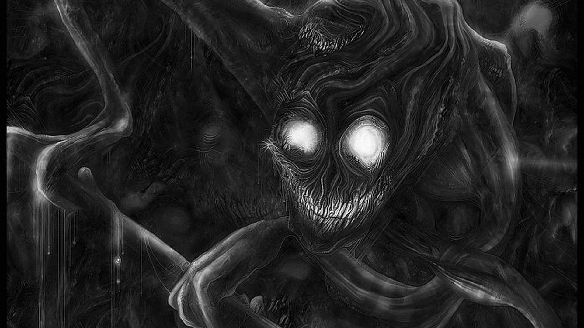 New Scary WallPapers Dark Horror HD Backgrounds The Art 1920×1080 Scary  Wallpaper (48