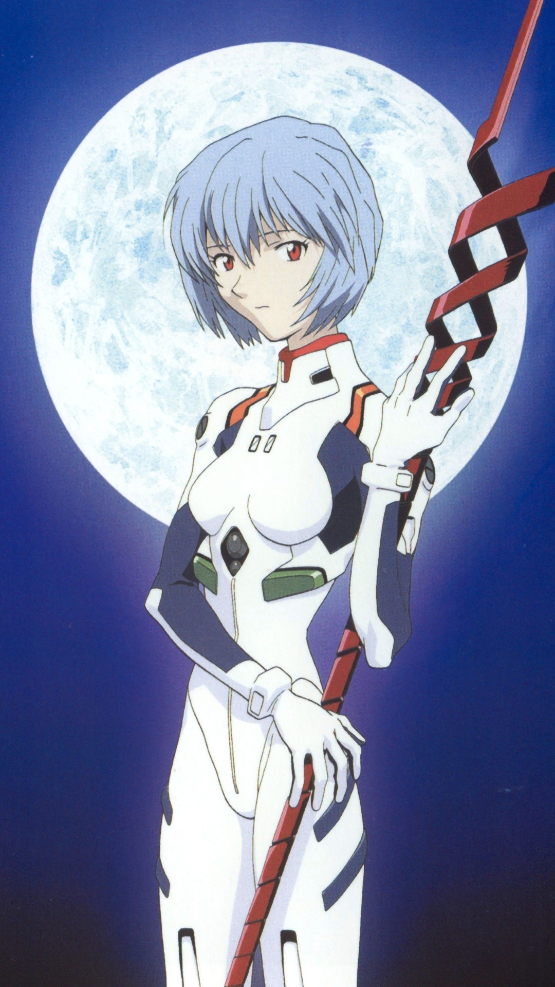 Neon Genesis Evangelion Rei Ayanami.iPhone 6 Plus wallpaper 1080×1920