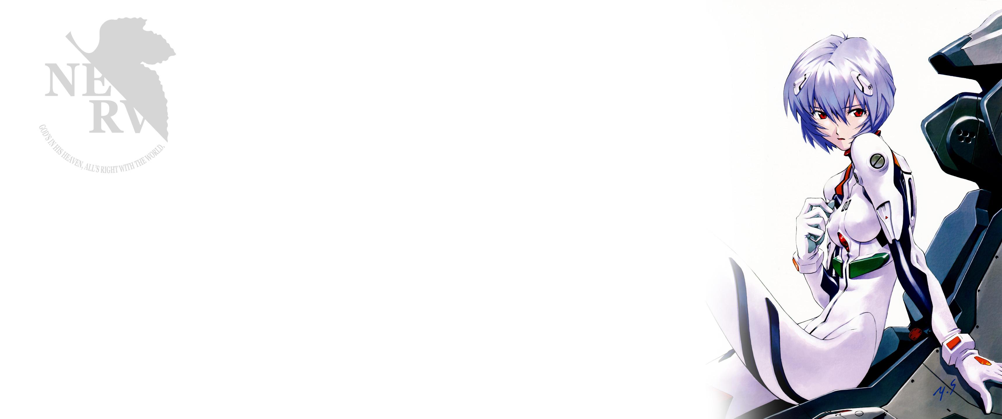 Anime – Neon Genesis Evangelion Rei Ayanami Bakgrund
