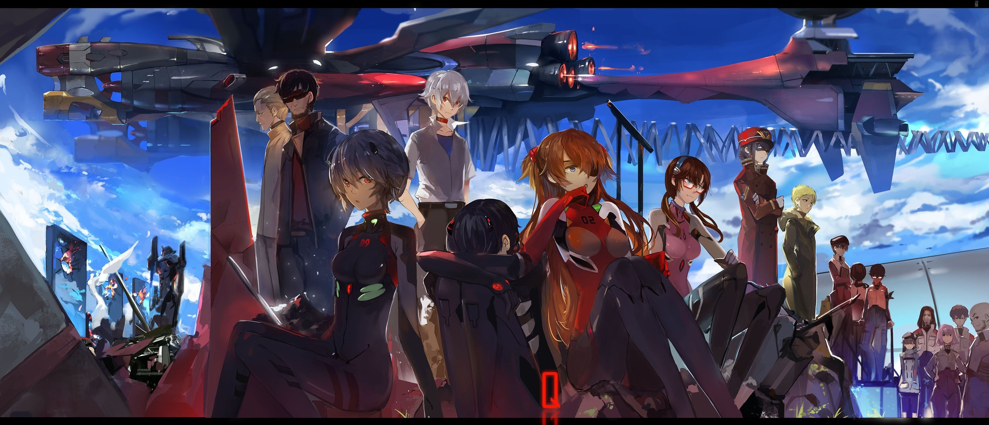 Rei Ayanami HD Wallpapers Backgrounds Wallpaper