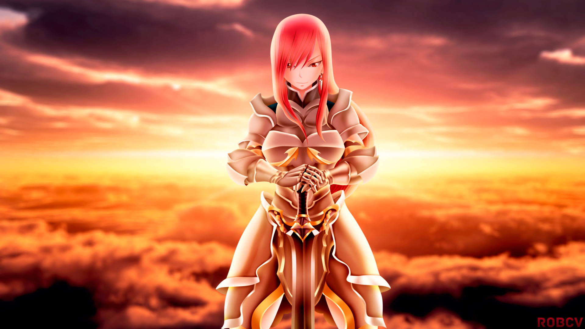 HD Free Erza Scarlet Backgrounds.
