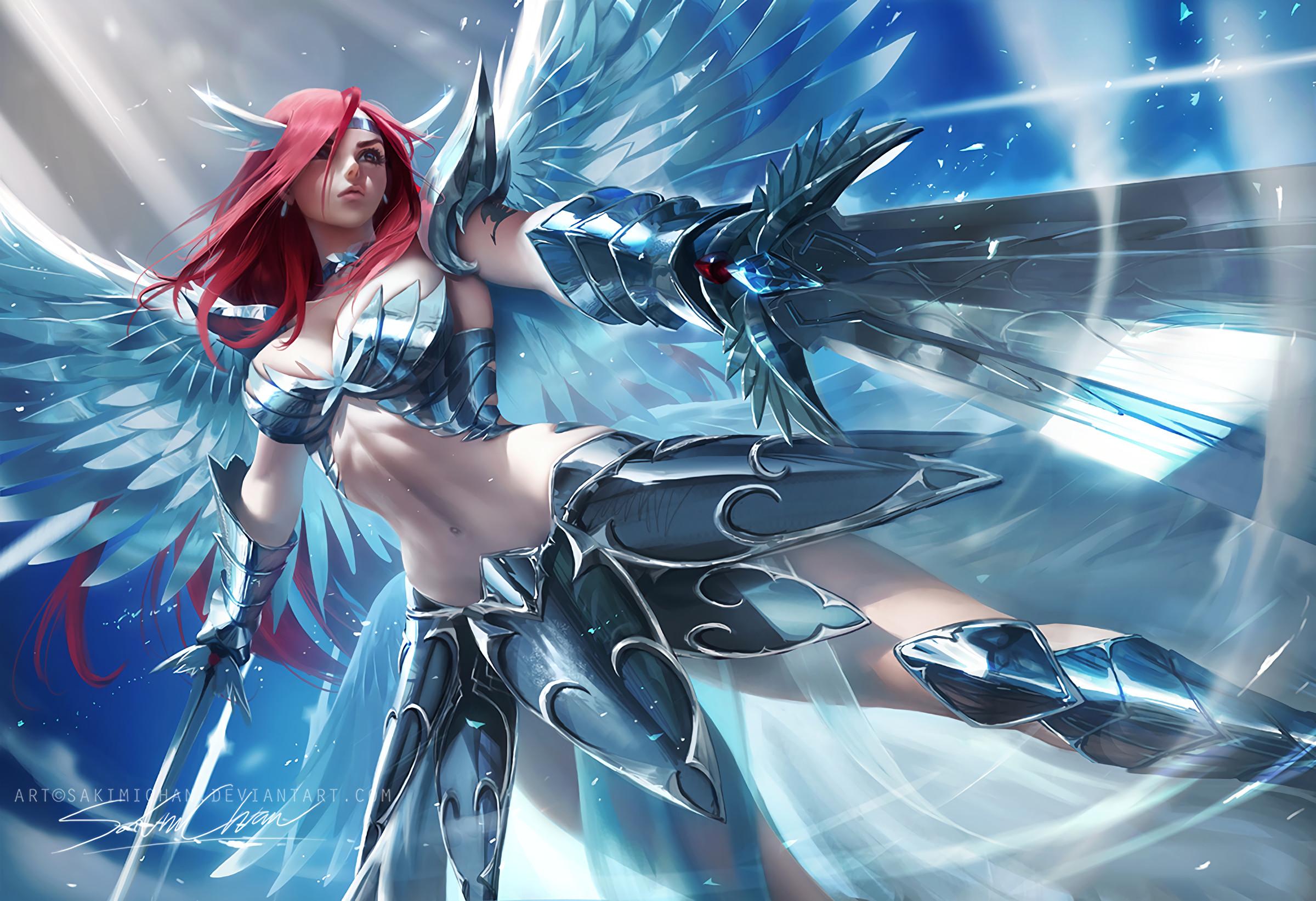 Anime – Fairy Tail Erza Scarlet Wallpaper