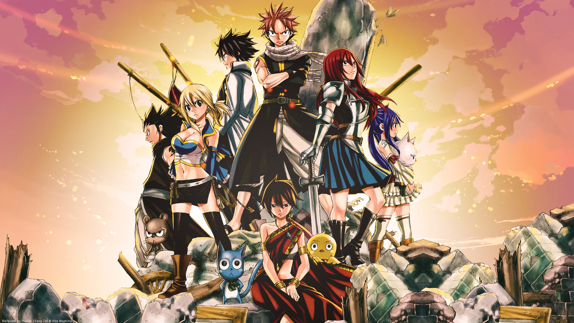 Movie – Fairy Tail the Movie: Phoenix Priestess Anime Lucy Heartfilia Natsu  Dragneel Erza Scarlet